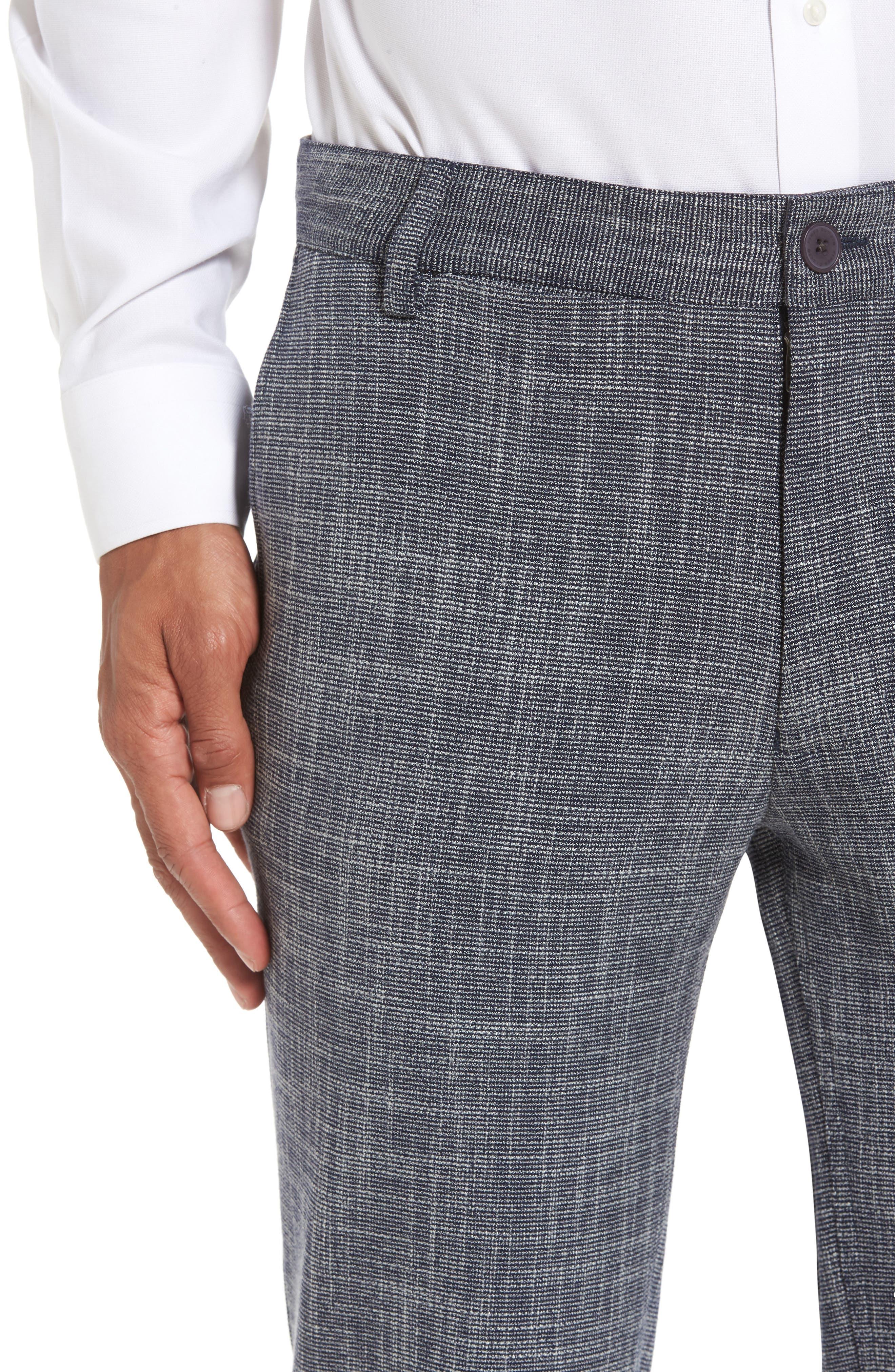Slim Fit Cuffed Pants,                             Alternate thumbnail 5, color,                             410