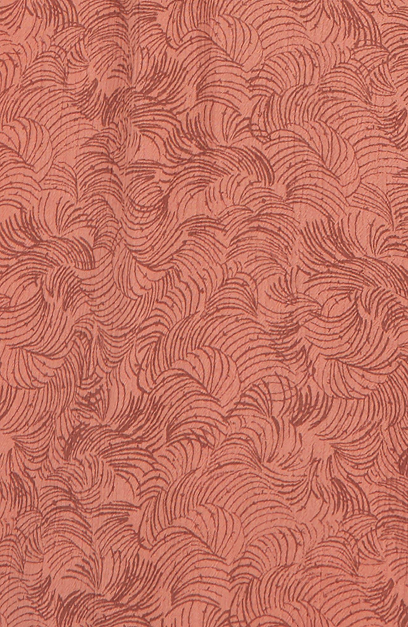 Issie Crop Jumpsuit,                             Alternate thumbnail 5, color,                             ROSE DAWN