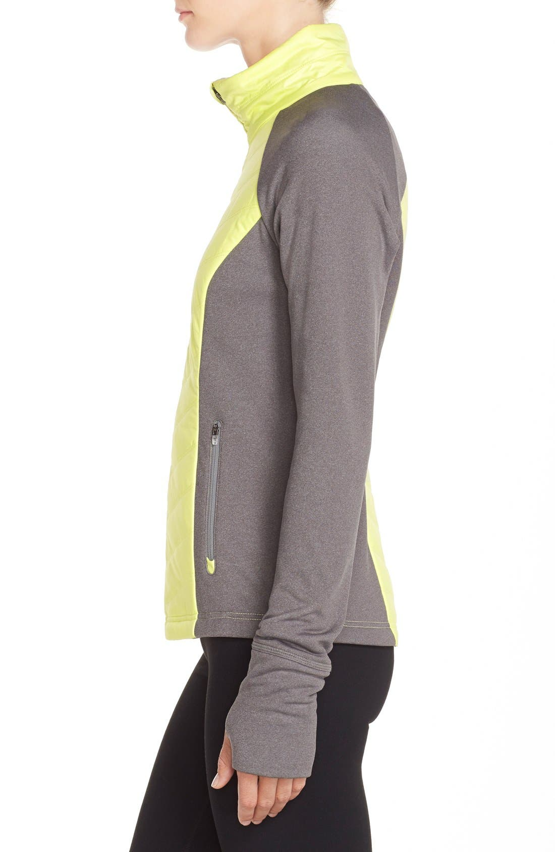 Zelfusion Reflective Quilted Jacket,                             Alternate thumbnail 25, color,