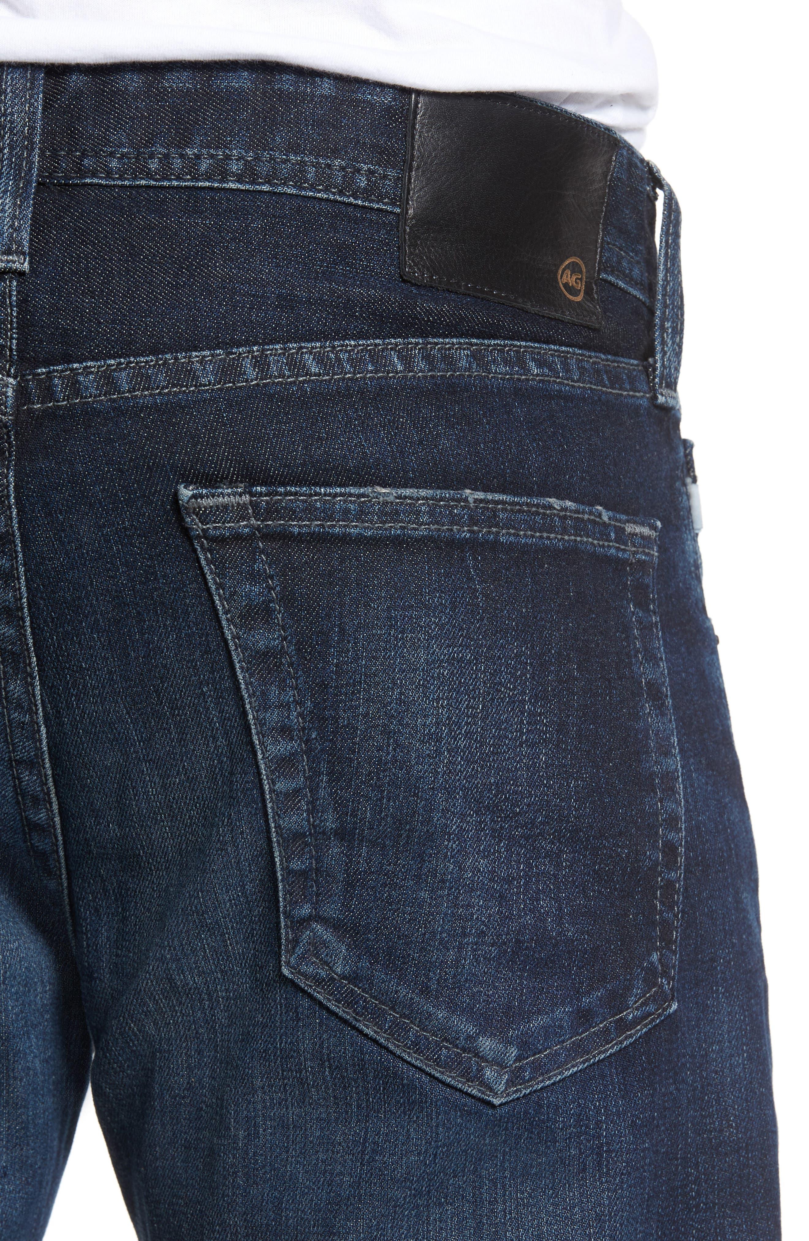Tellis Slim Fit Jeans,                             Alternate thumbnail 4, color,