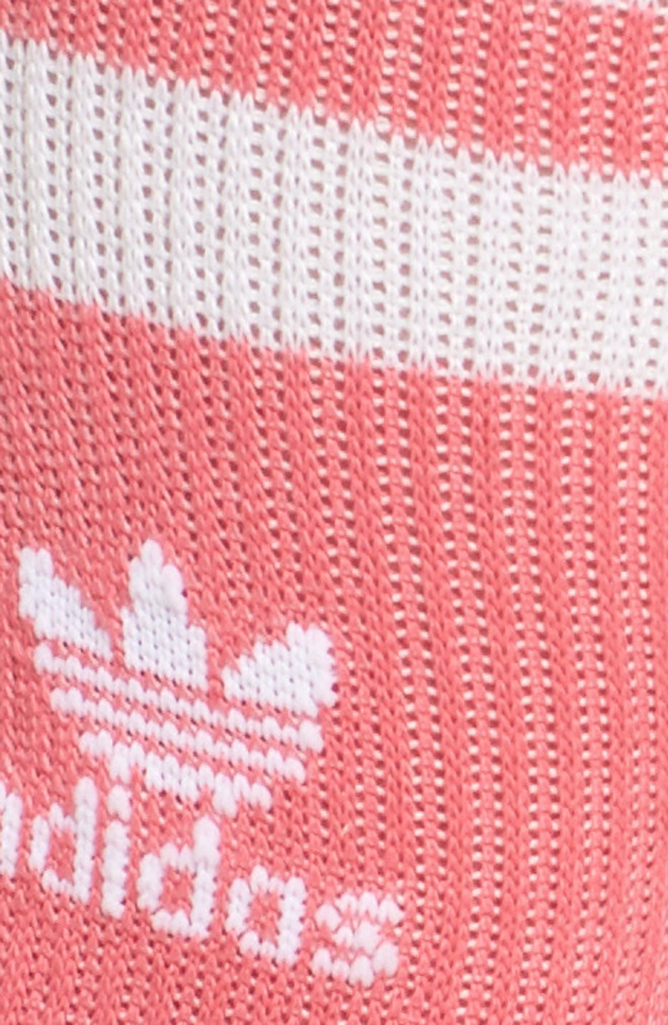 3-Stripes Crew Socks,                             Alternate thumbnail 2, color,