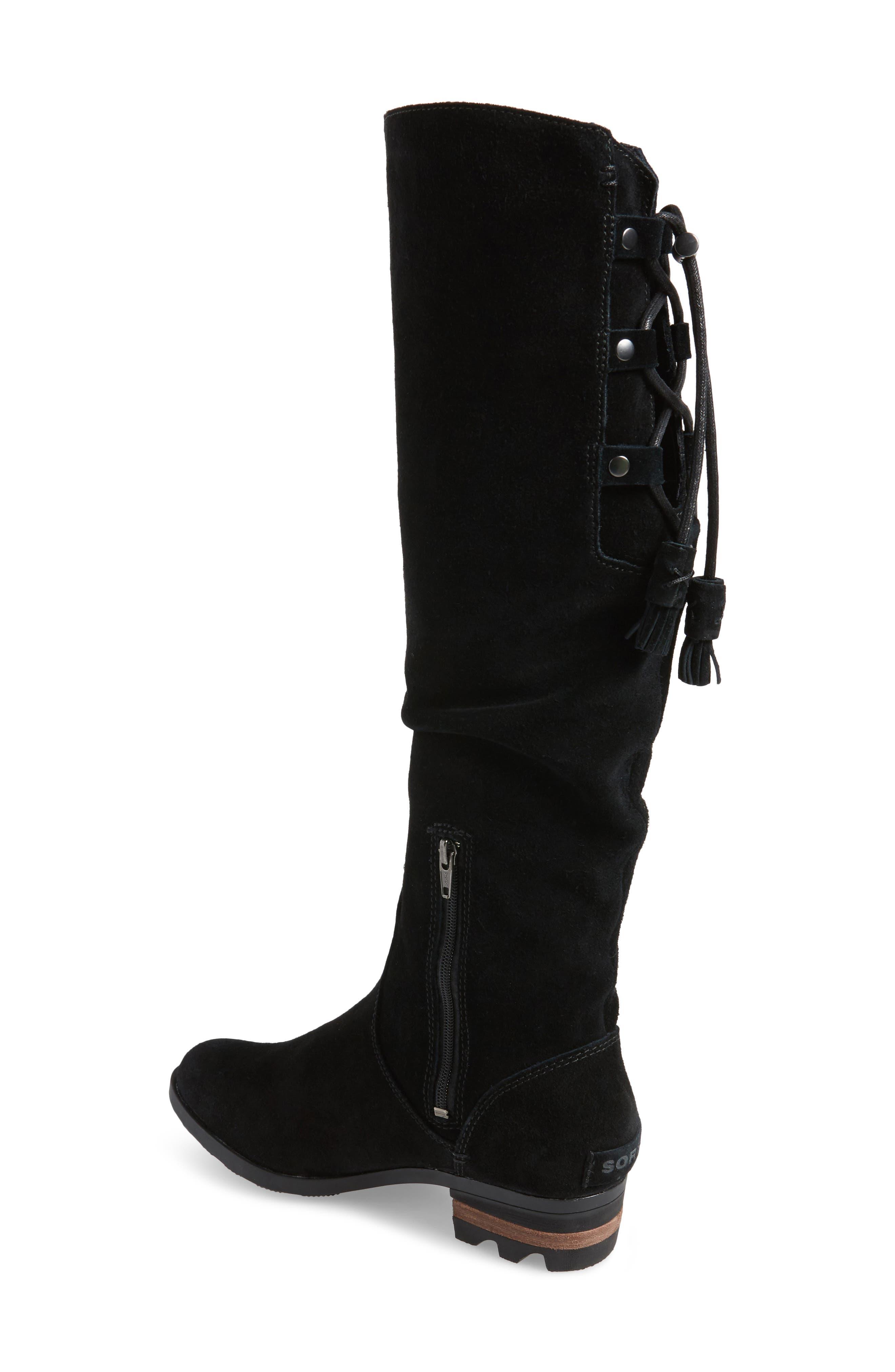 Farah Tall Waterproof Boot,                             Alternate thumbnail 2, color,                             010