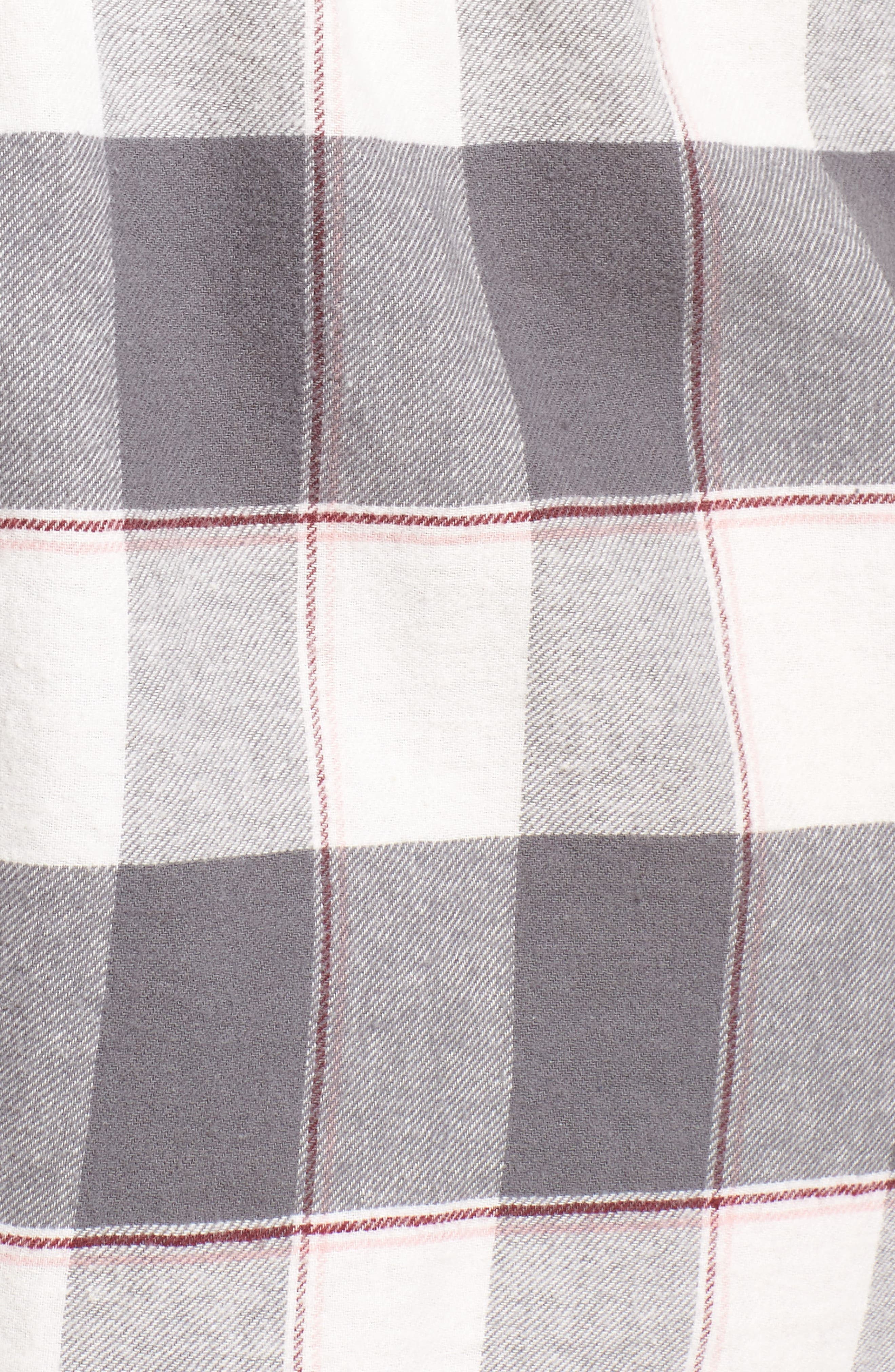 Cozy Time Shorts,                             Alternate thumbnail 5, color,                             GREY
