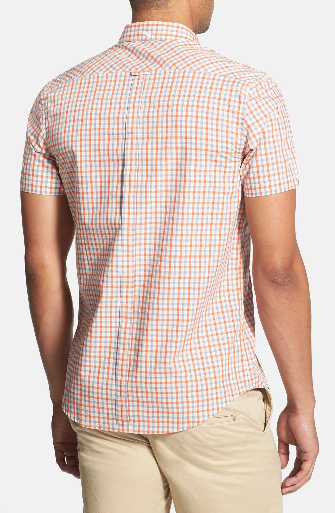 Check Woven Shirt,                             Alternate thumbnail 3, color,                             110