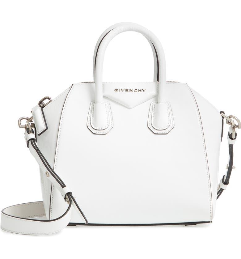 Givenchy Mini Antigona Patent Leather Satchel  4ec0583d3edf3