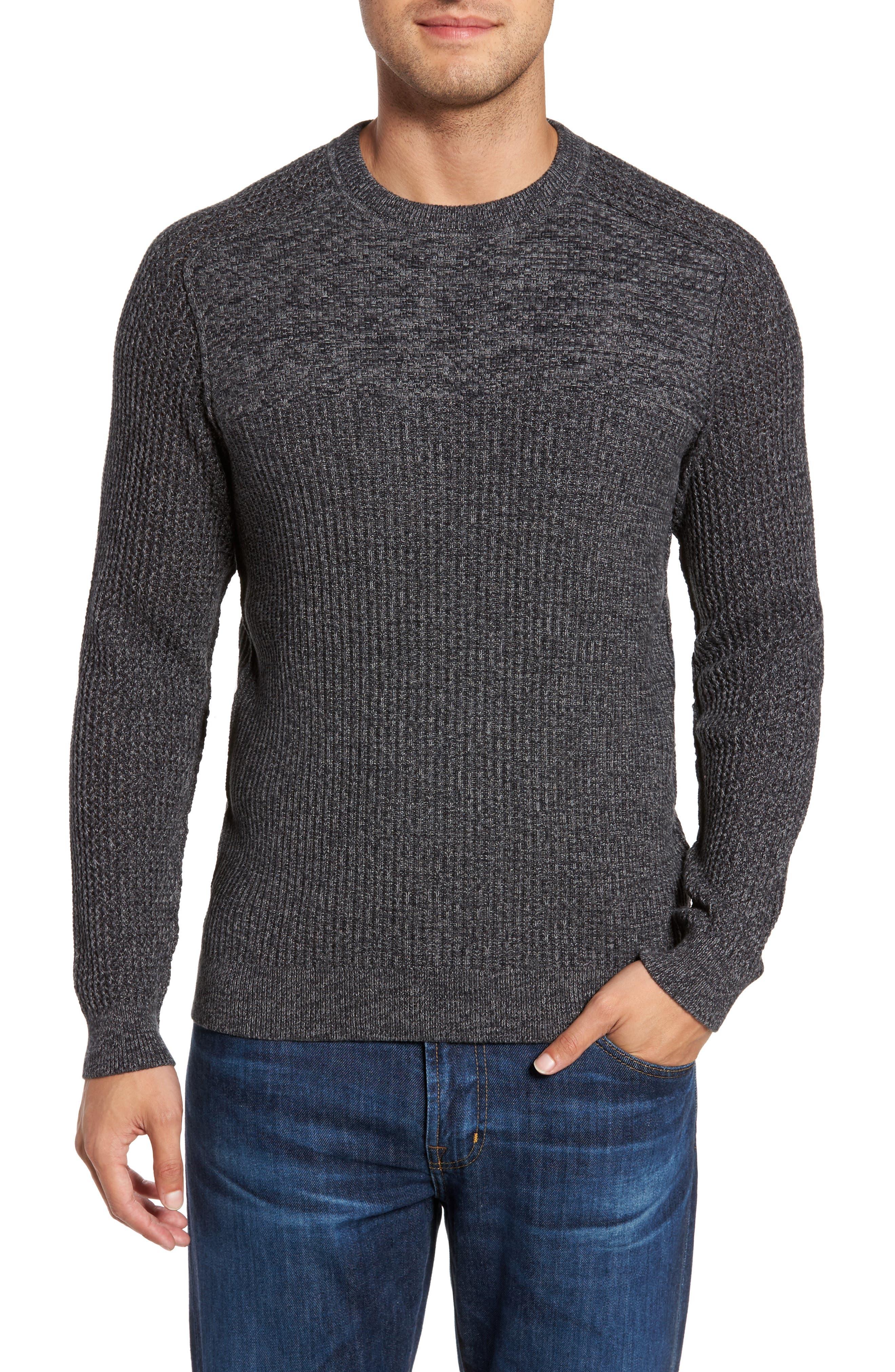 Medina Marl Cotton Sweater,                             Main thumbnail 2, color,
