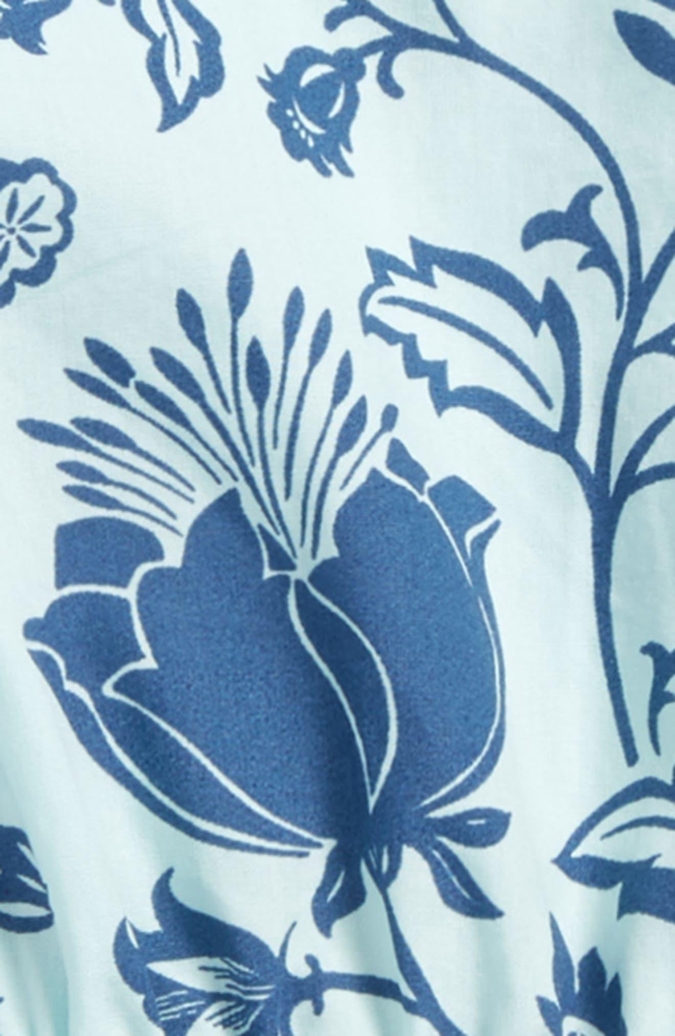 Floral Dress,                             Alternate thumbnail 2, color,