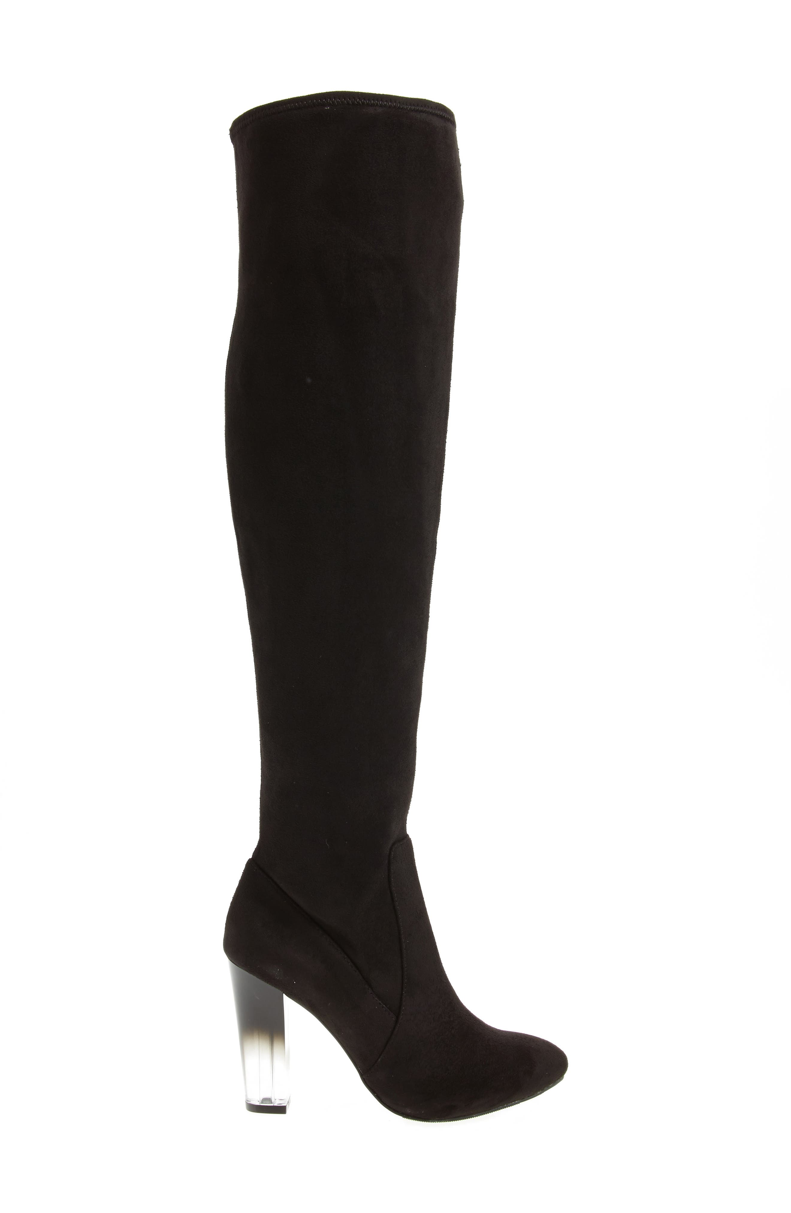 Icelyn Over the Knee Stretch Boot,                             Alternate thumbnail 3, color,                             006