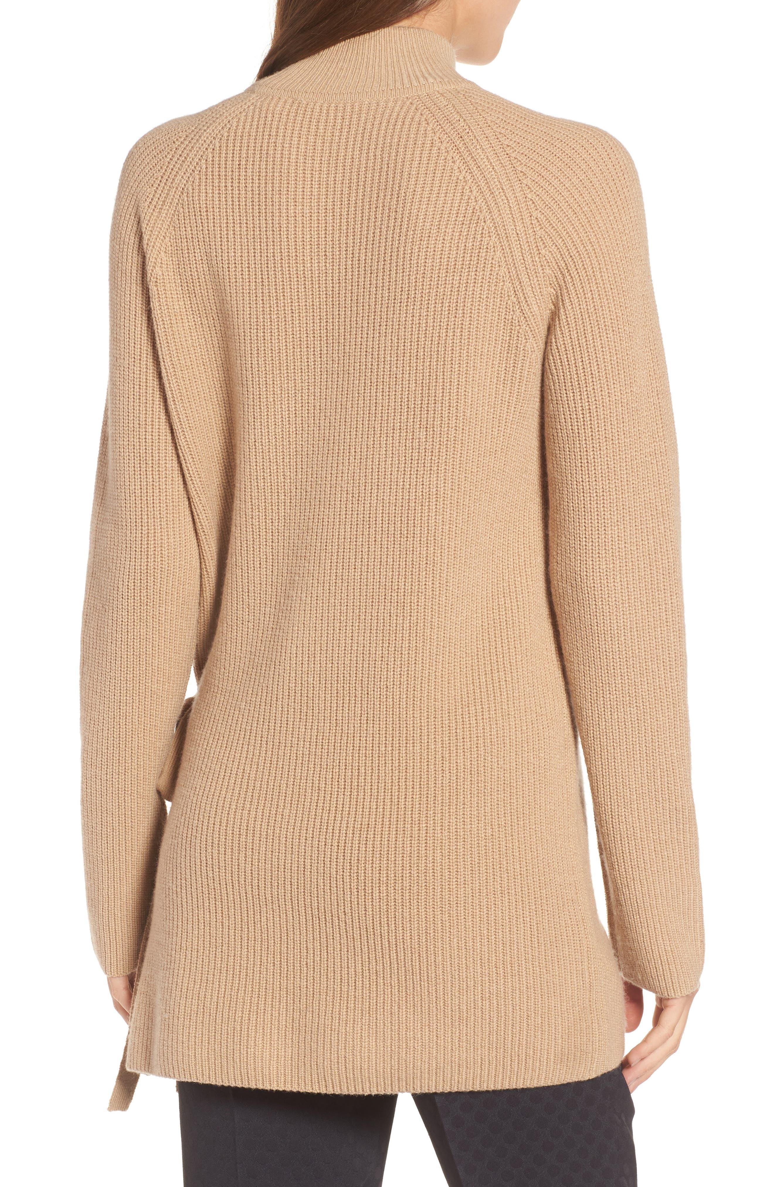 Filda Tie Side Sweater,                             Alternate thumbnail 2, color,