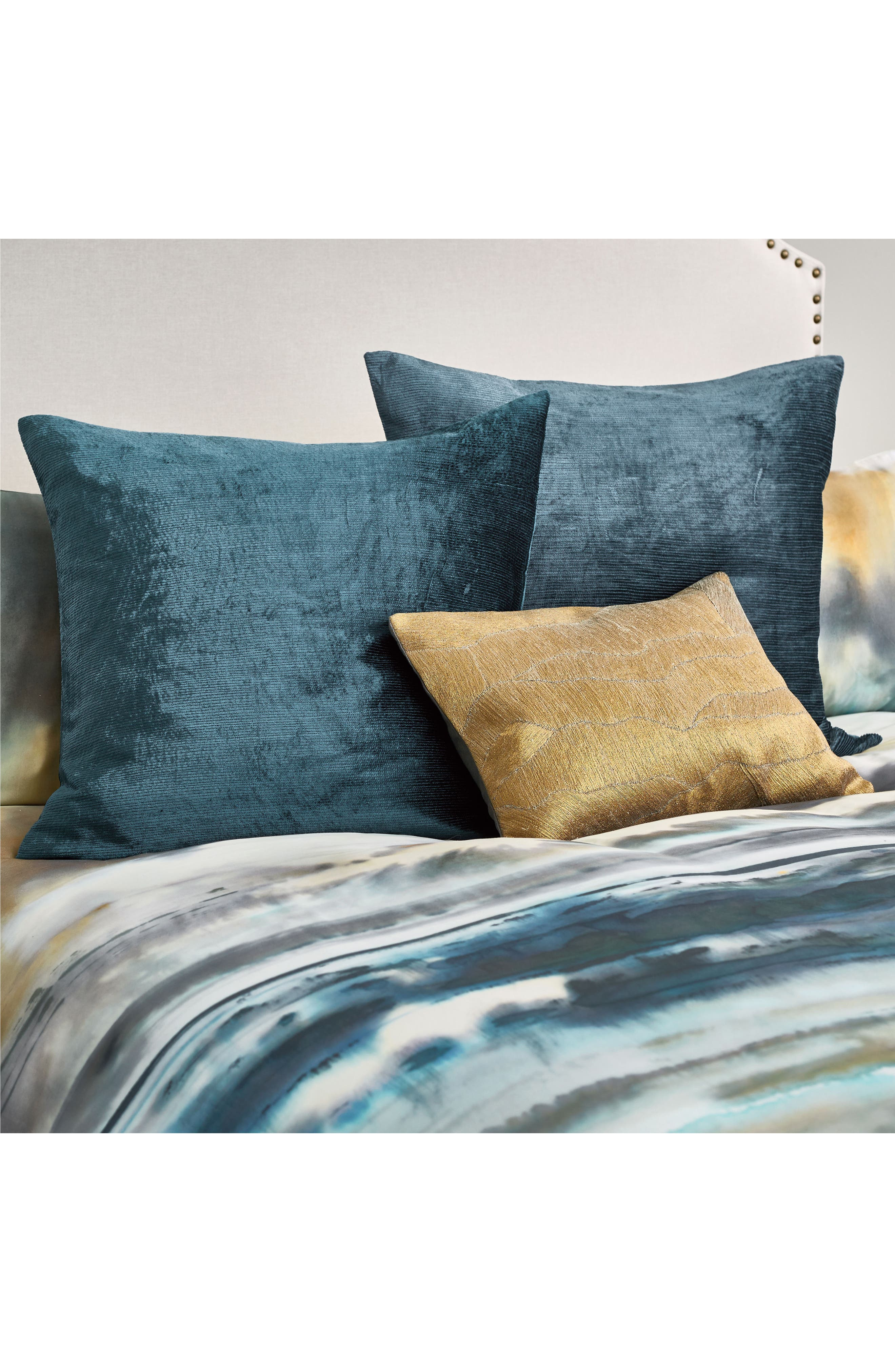 After The Storm Accent Pillow,                             Alternate thumbnail 4, color,                             GOLD