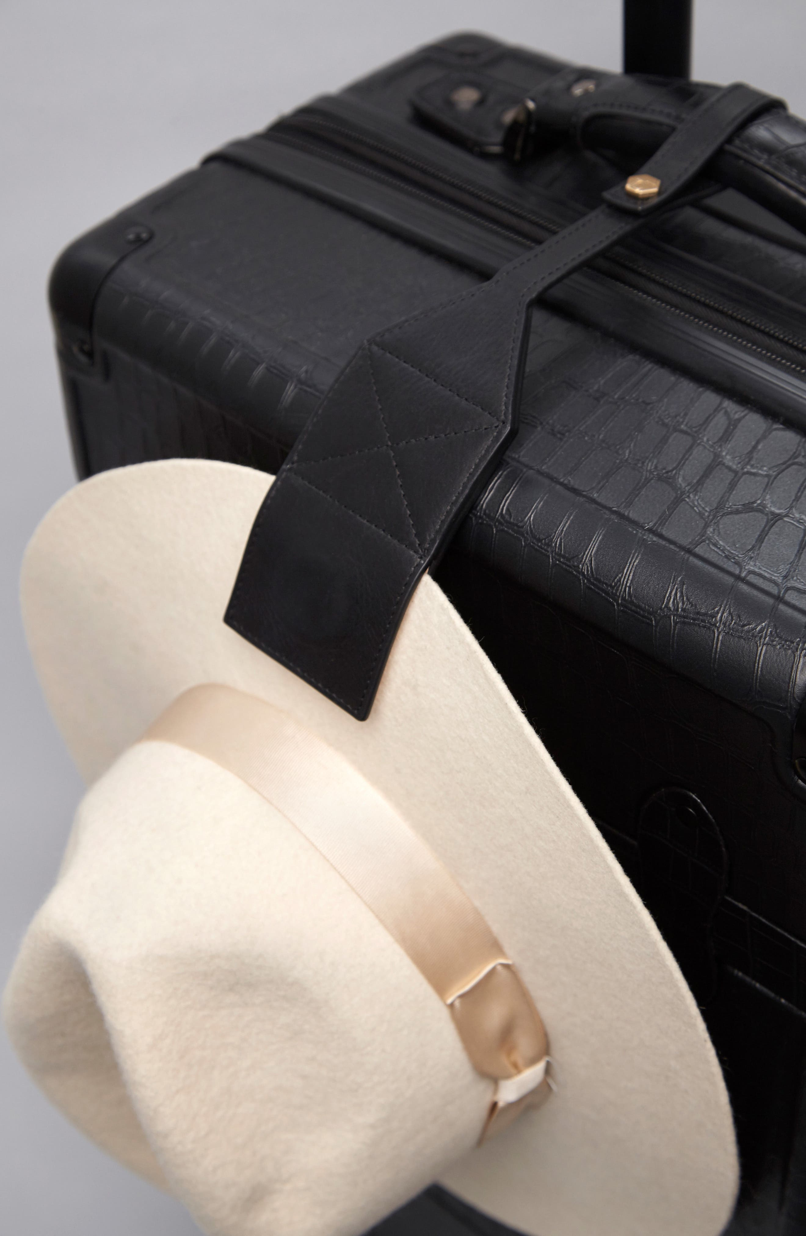 Leather Hat Clip,                             Main thumbnail 1, color,                             001