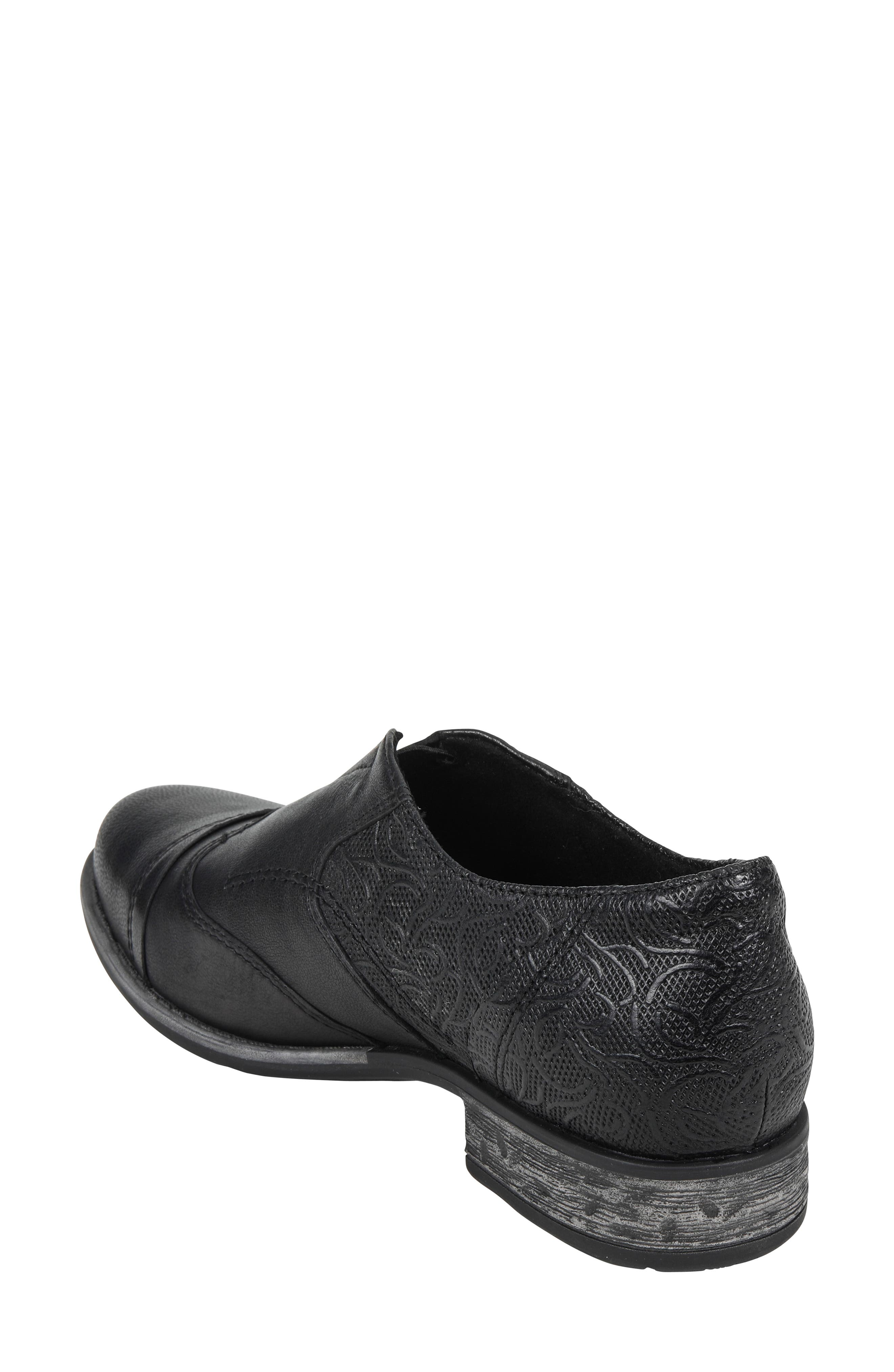 EARTH<SUP>®</SUP>,                             Blythe Loafer,                             Alternate thumbnail 2, color,                             BLACK LEATHER