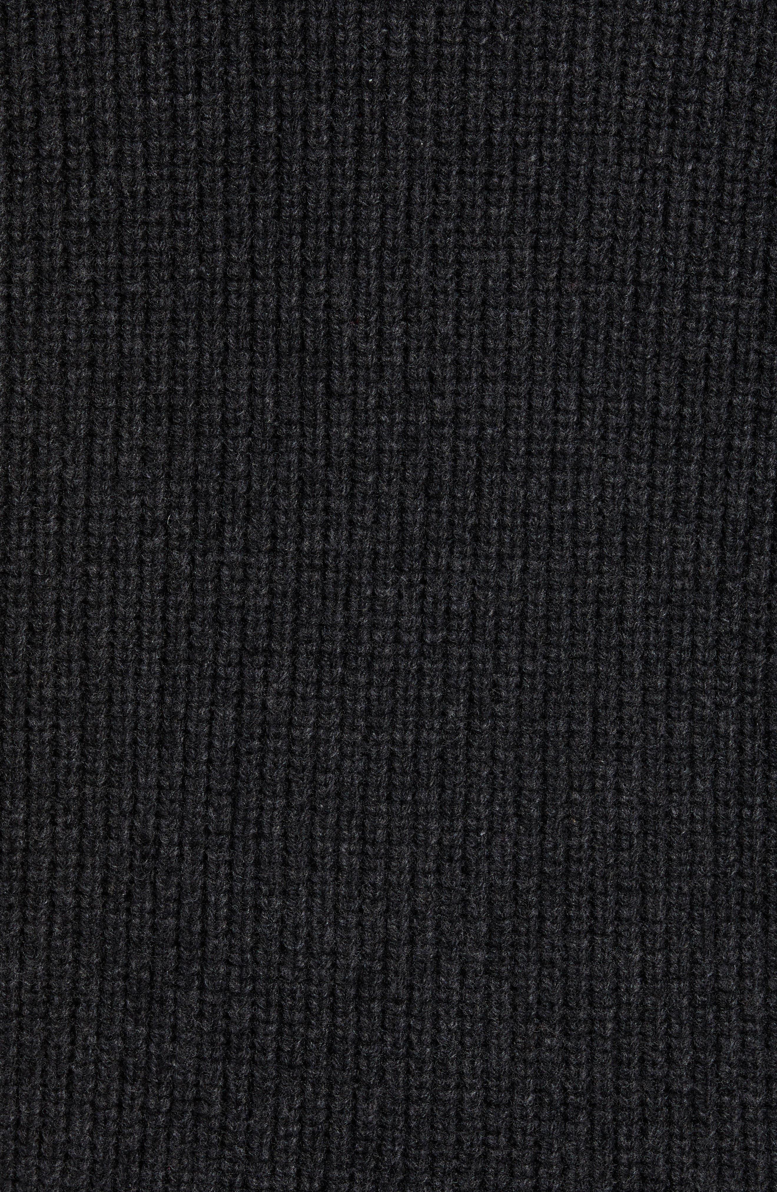Carson Wool Jacket,                             Alternate thumbnail 6, color,                             CHARCOAL