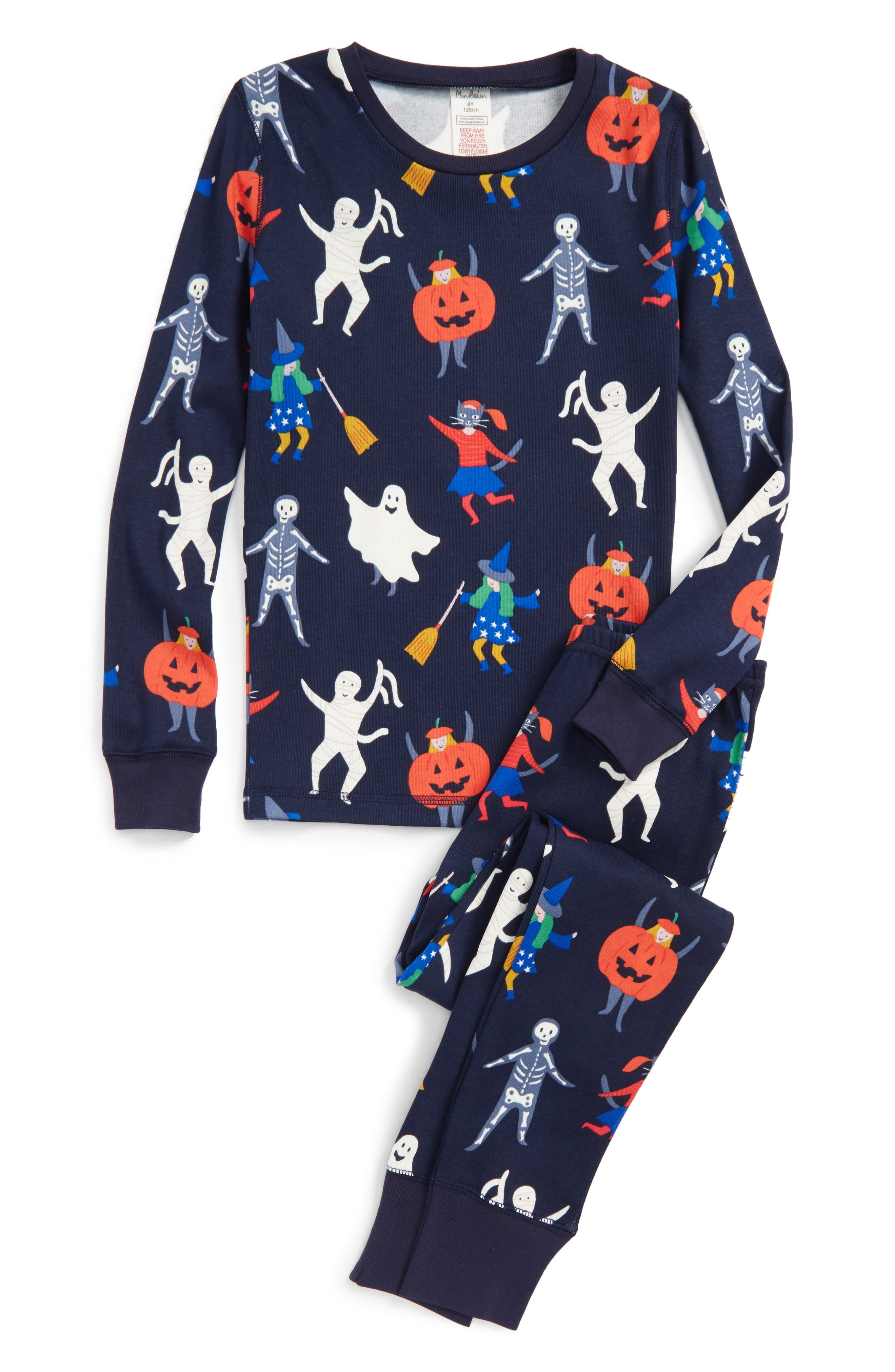 Fitted Two-Piece Pajamas,                             Main thumbnail 1, color,                             410
