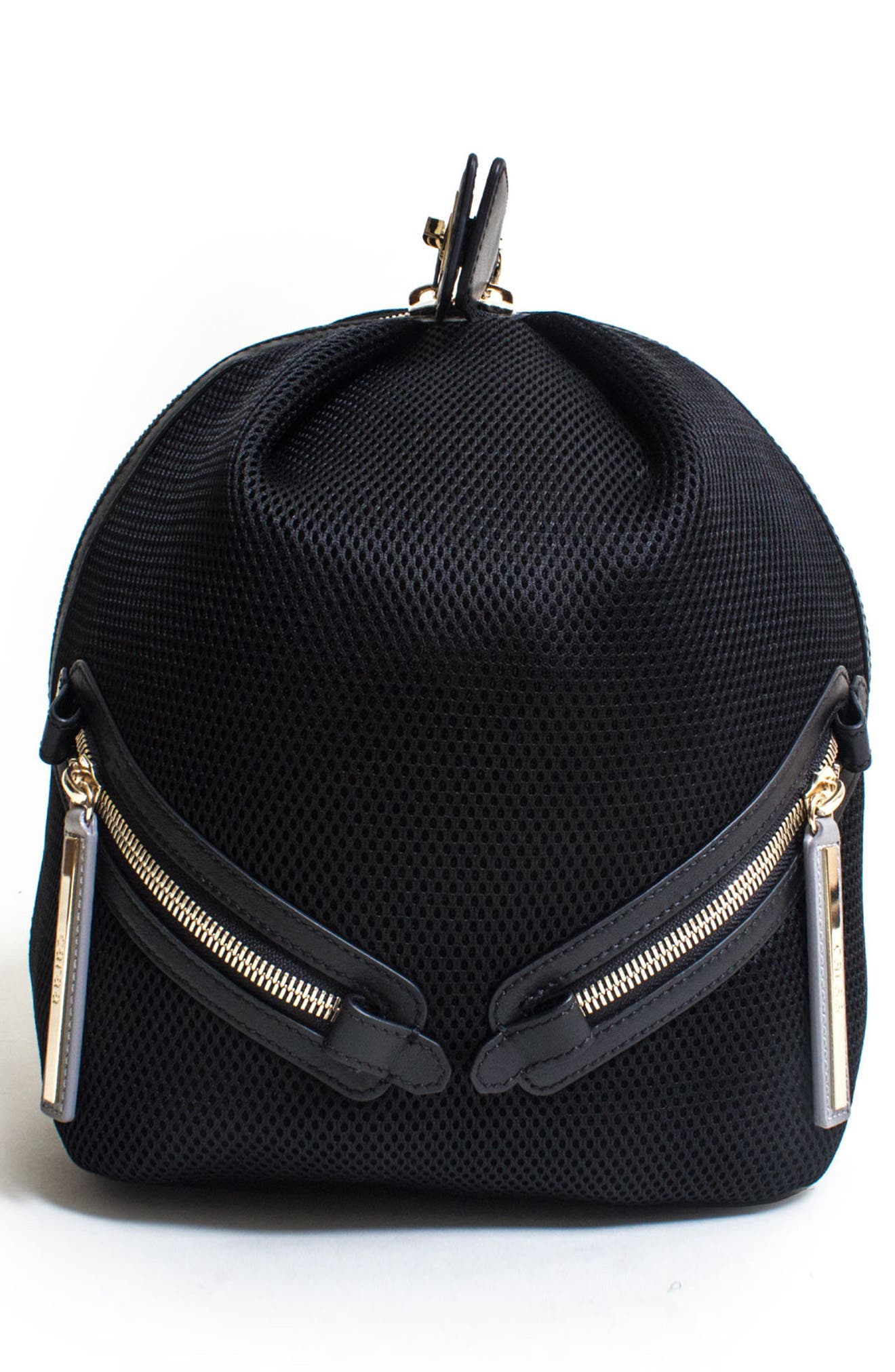 Dance 2 Mesh with Leather Trim Backpack,                             Alternate thumbnail 2, color,                             001