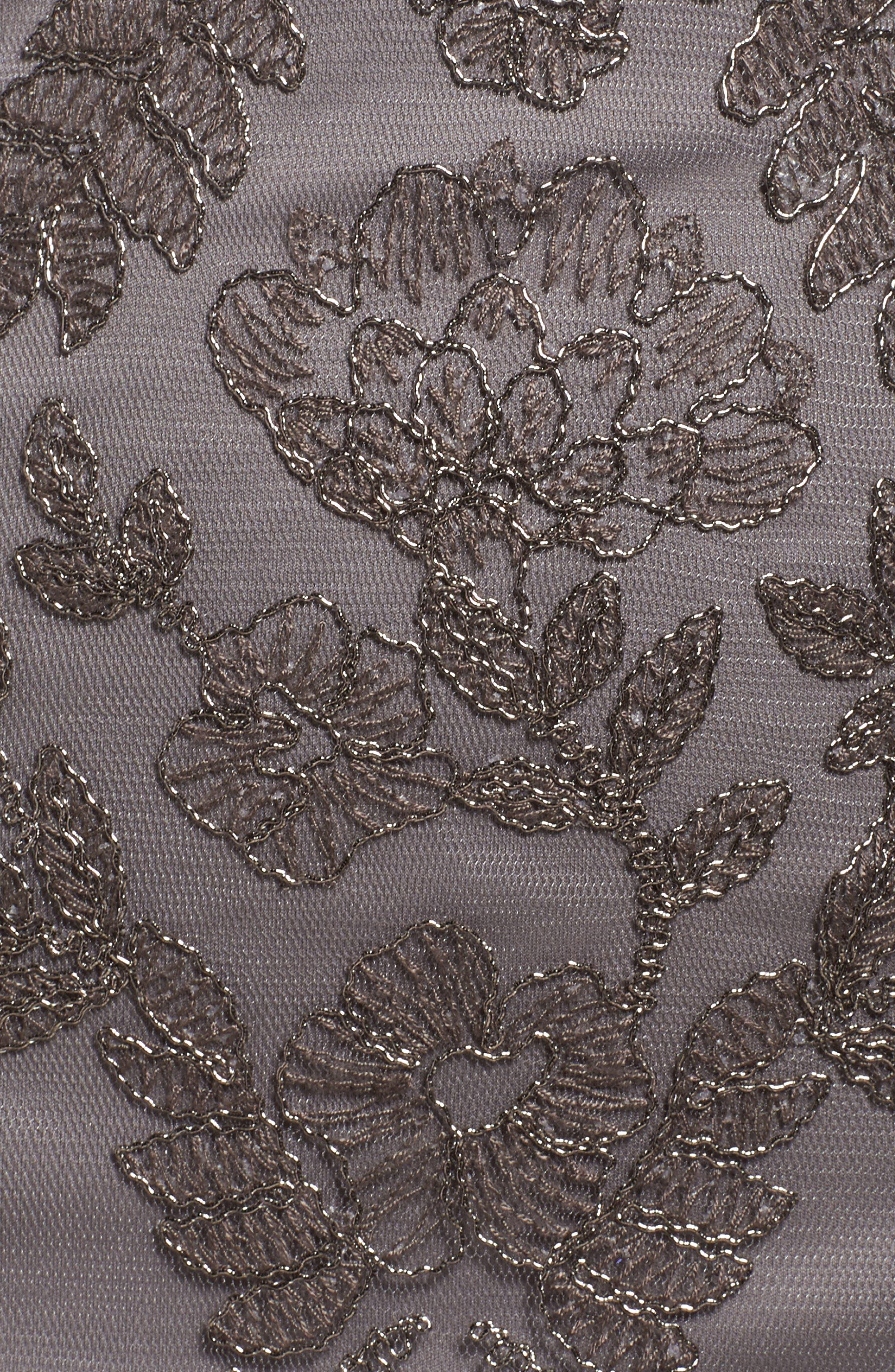 Lace Sheath Dress,                             Alternate thumbnail 5, color,                             020