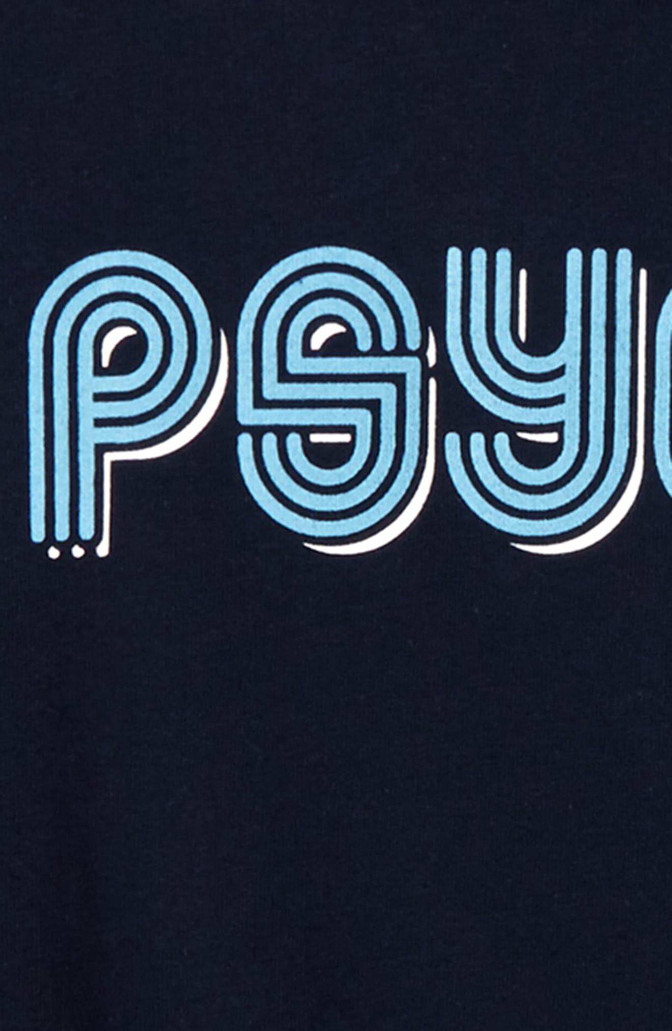 Psyched Print T-Shirt,                             Alternate thumbnail 2, color,                             400