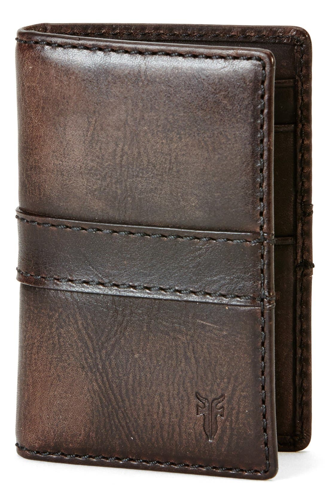 'Oliver' Leather Wallet,                             Main thumbnail 1, color,                             246