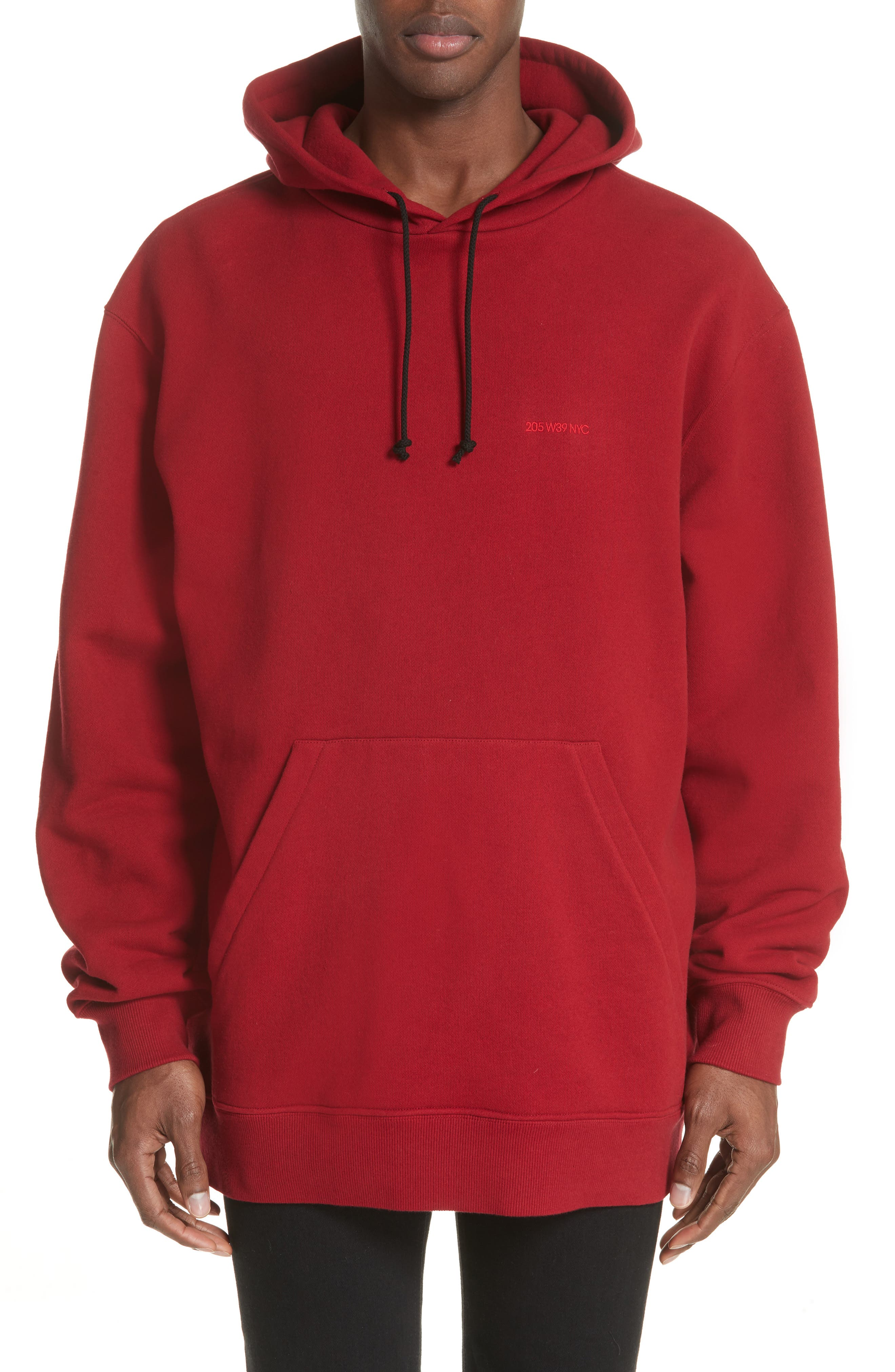 CALVIN KLEIN 205W39NYC Oversize Hoodie, Main, color, 602