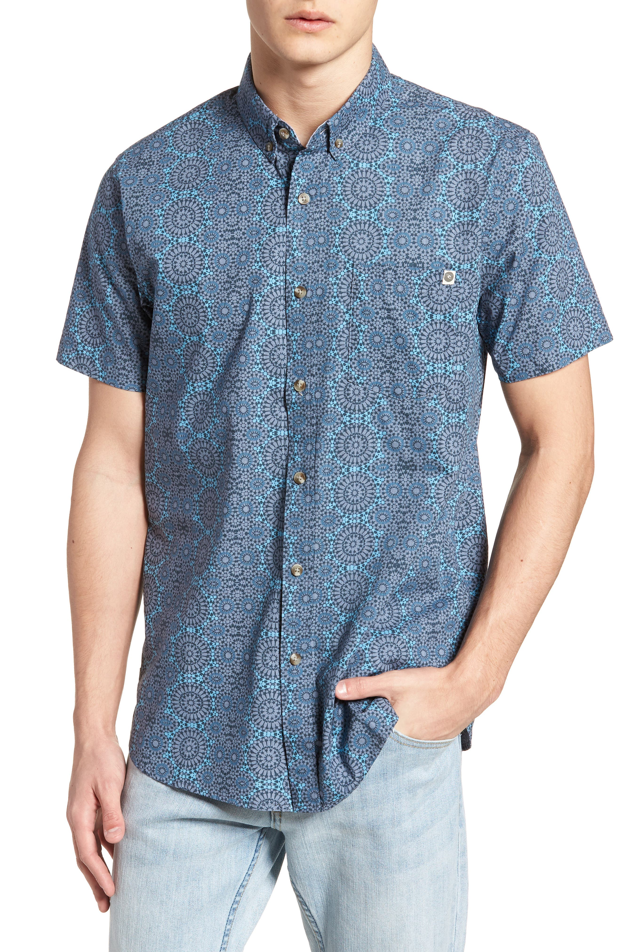 Scopic Woven Shirt,                             Main thumbnail 3, color,