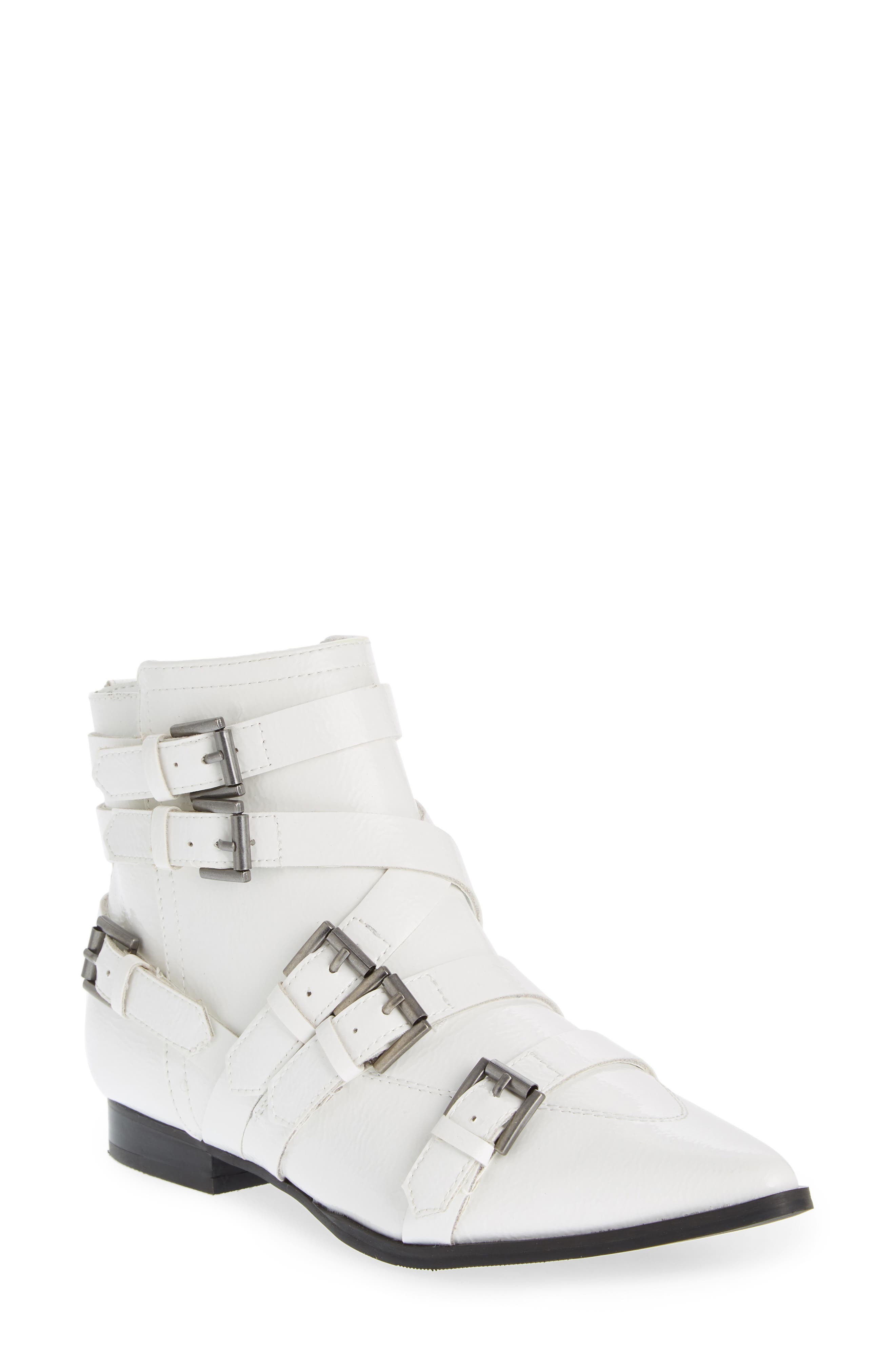 Coconuts By Matisse Amsterdam Pointy Toe Bootie, White
