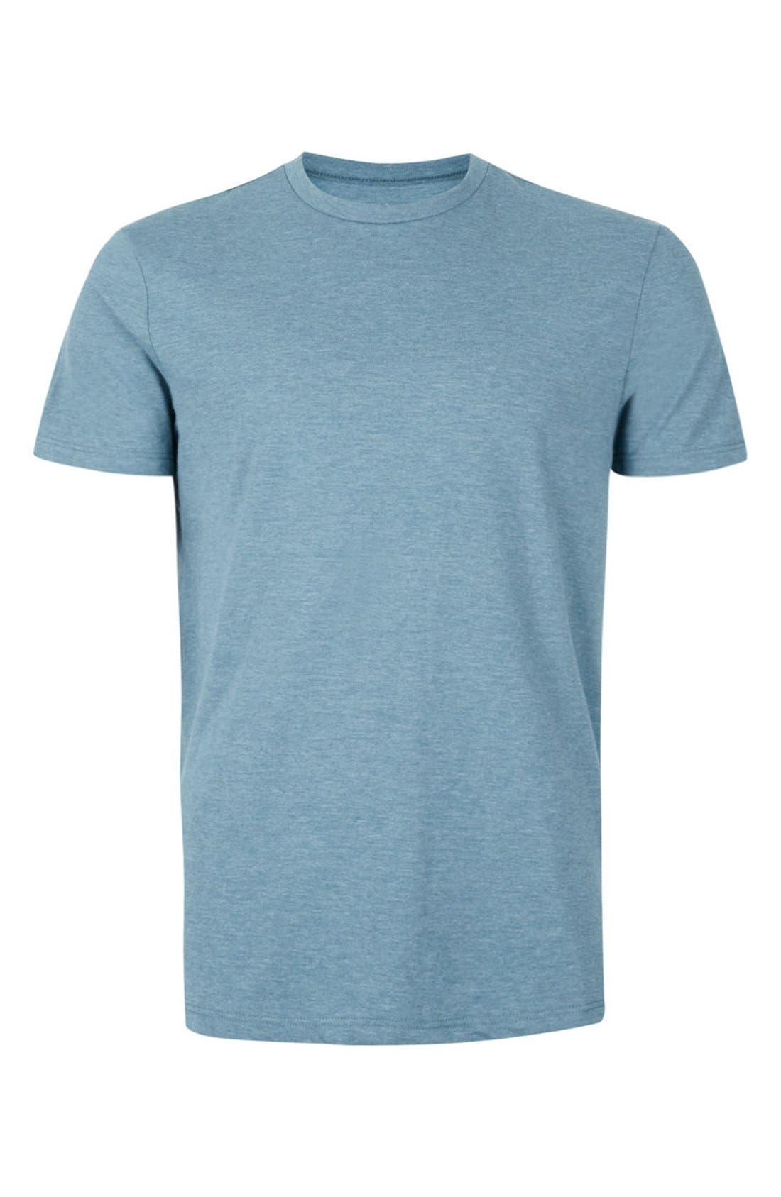 Slim Fit Crewneck T-Shirt,                             Alternate thumbnail 412, color,