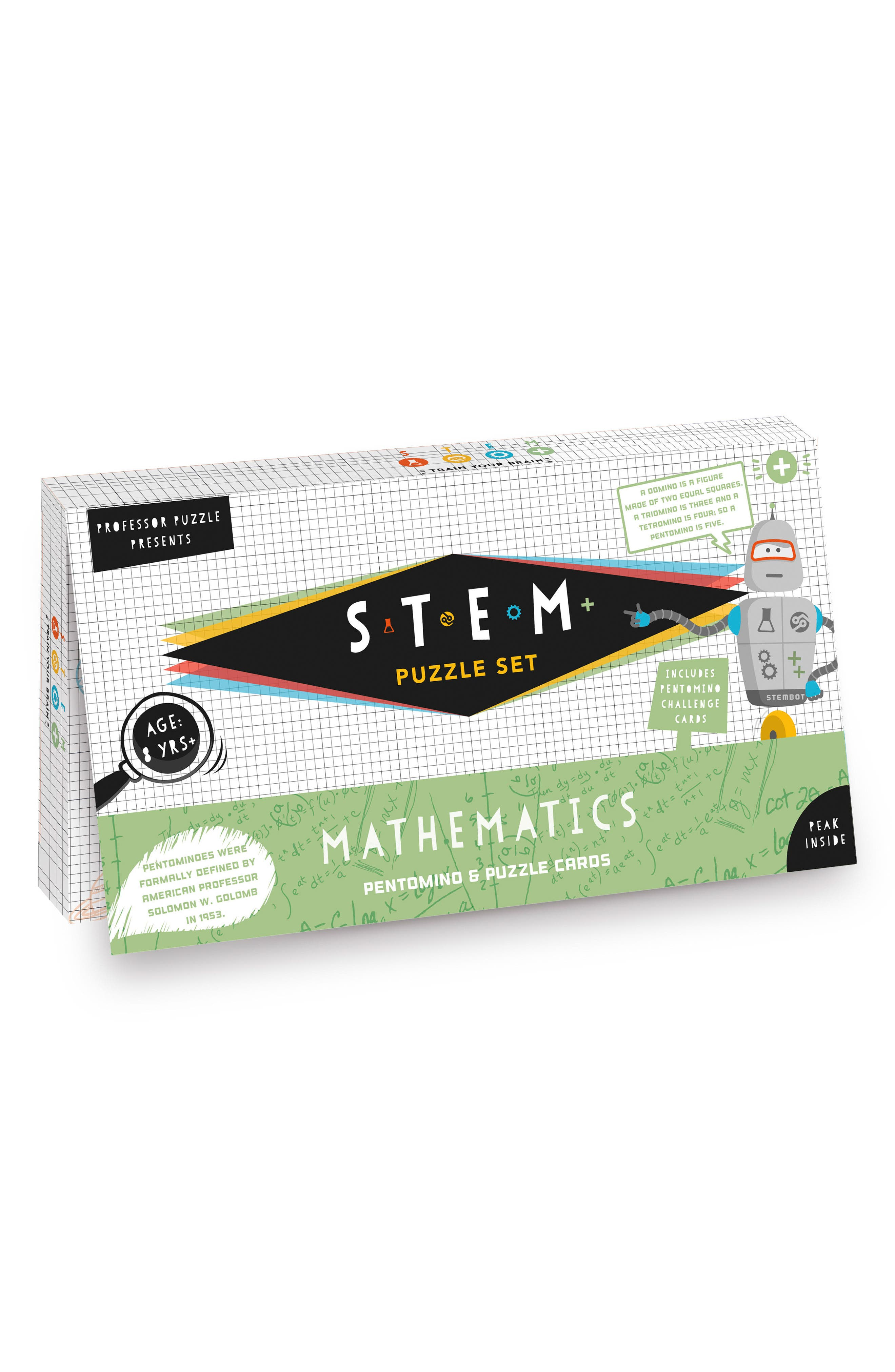 STEM Mathematics Pentomino Set, Main, color, 300
