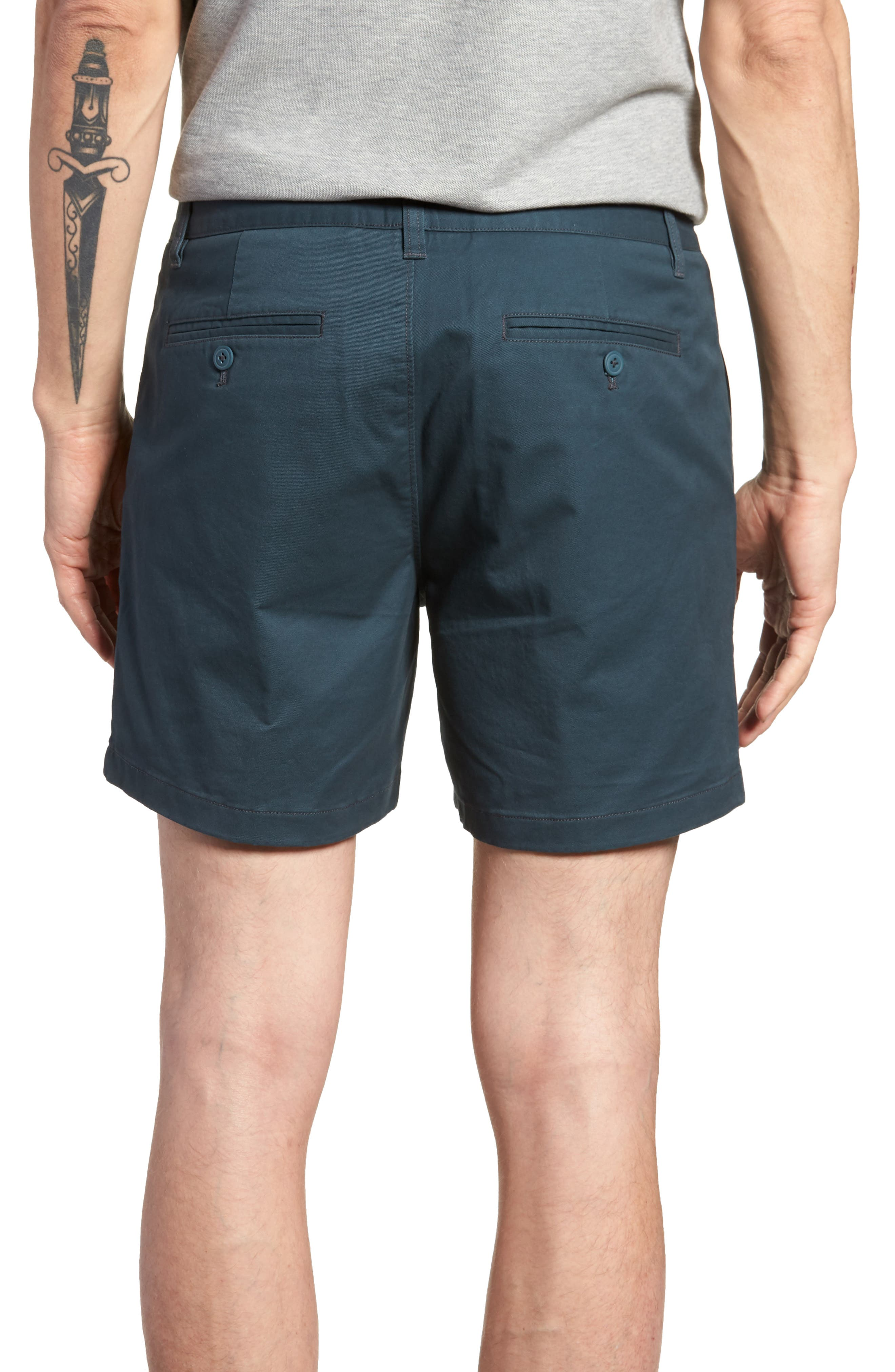 Stretch Washed Chino 5-Inch Shorts,                             Alternate thumbnail 36, color,