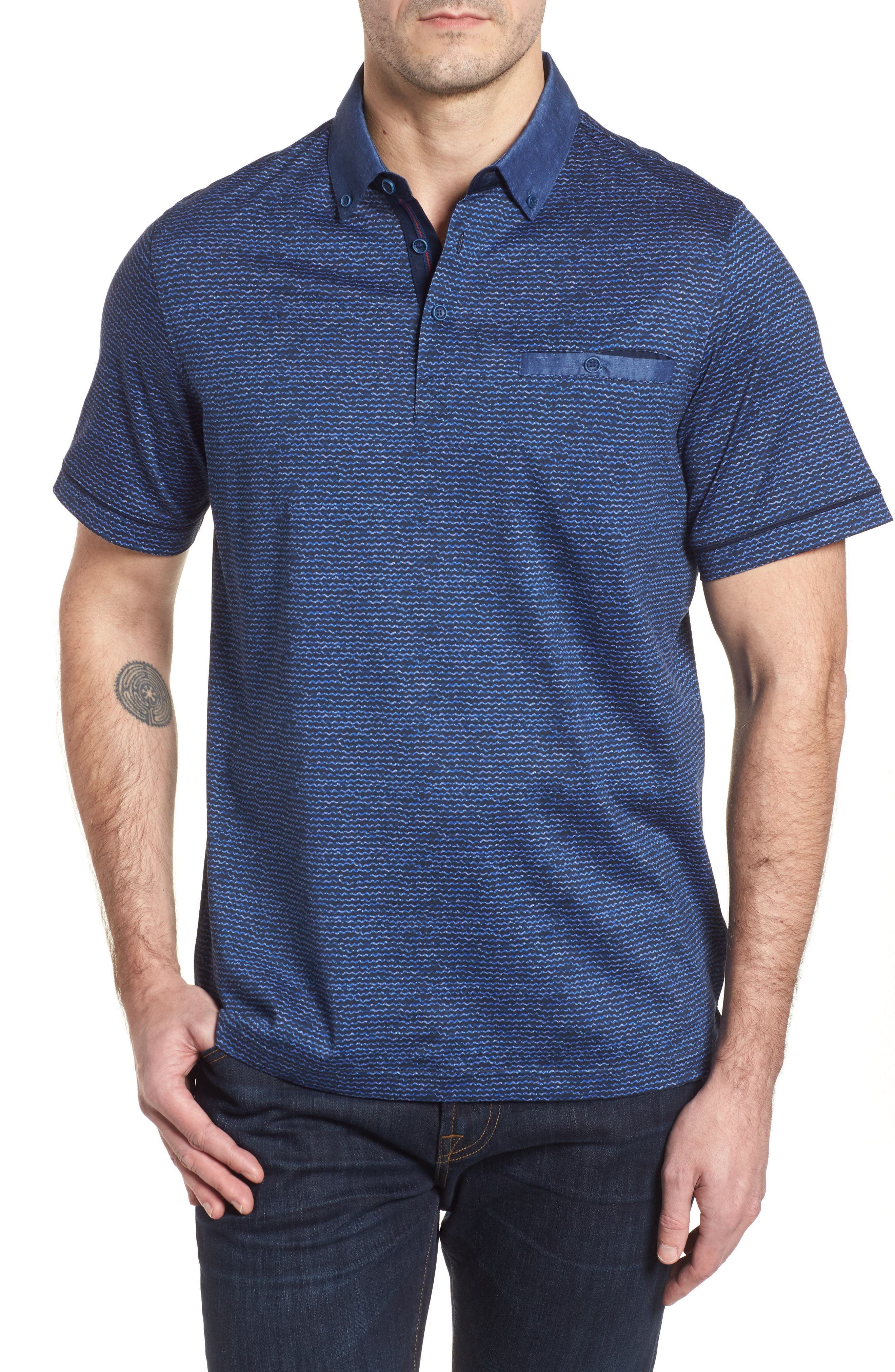 Regular Fit Polo,                         Main,                         color, 411