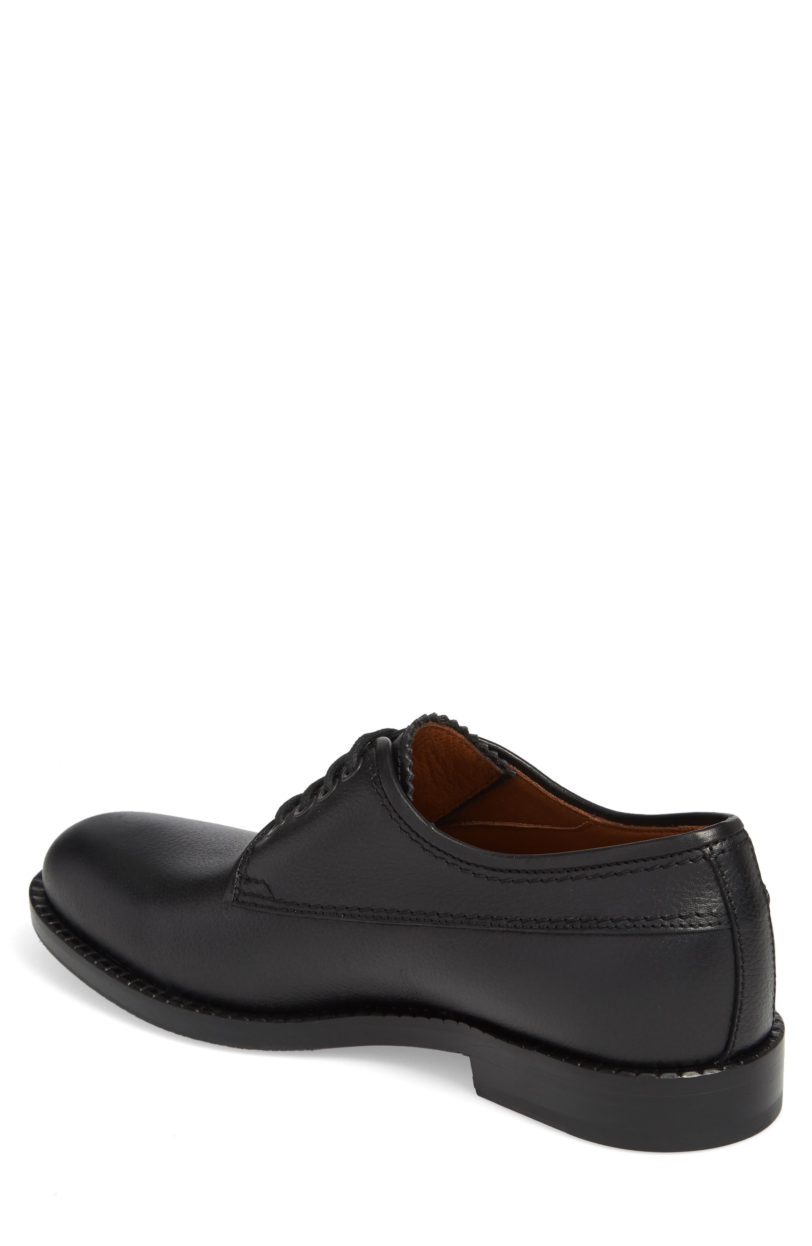 Jonah Weatherproof Plain Toe Derby,                             Alternate thumbnail 2, color,                             BLACK