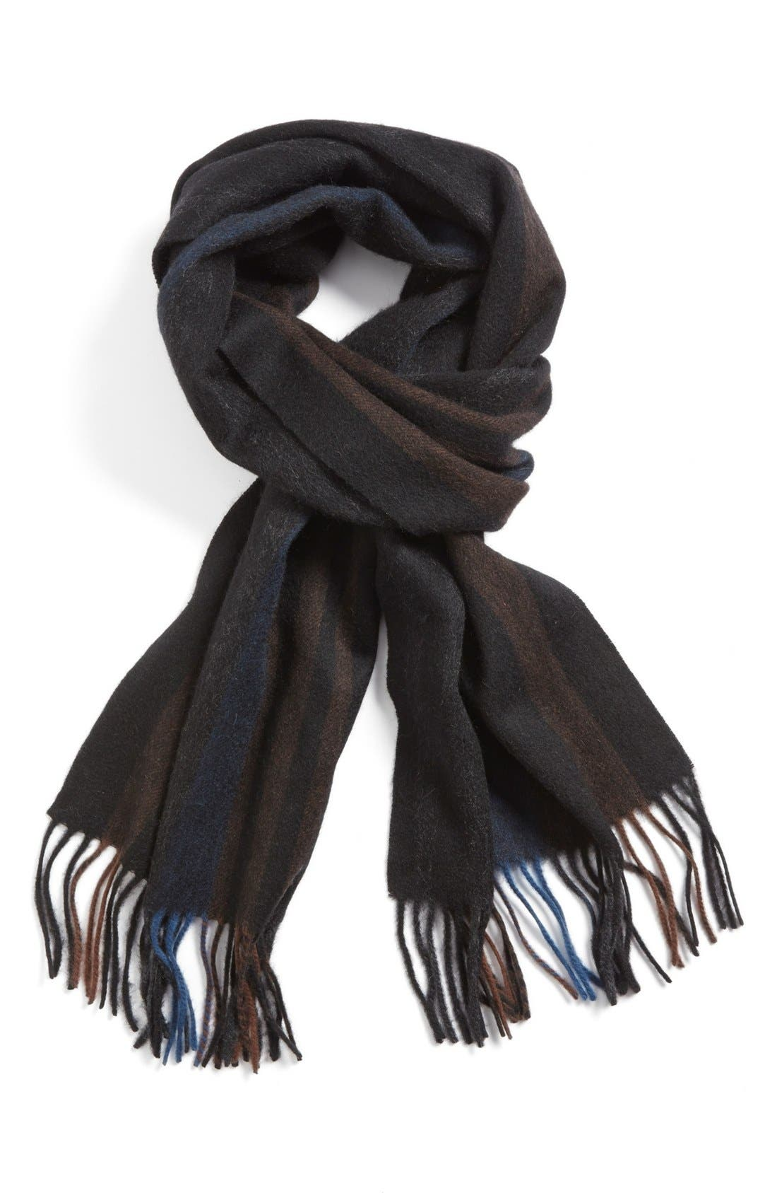 NORDSTROM Lambswool Scarf, Main, color, 410