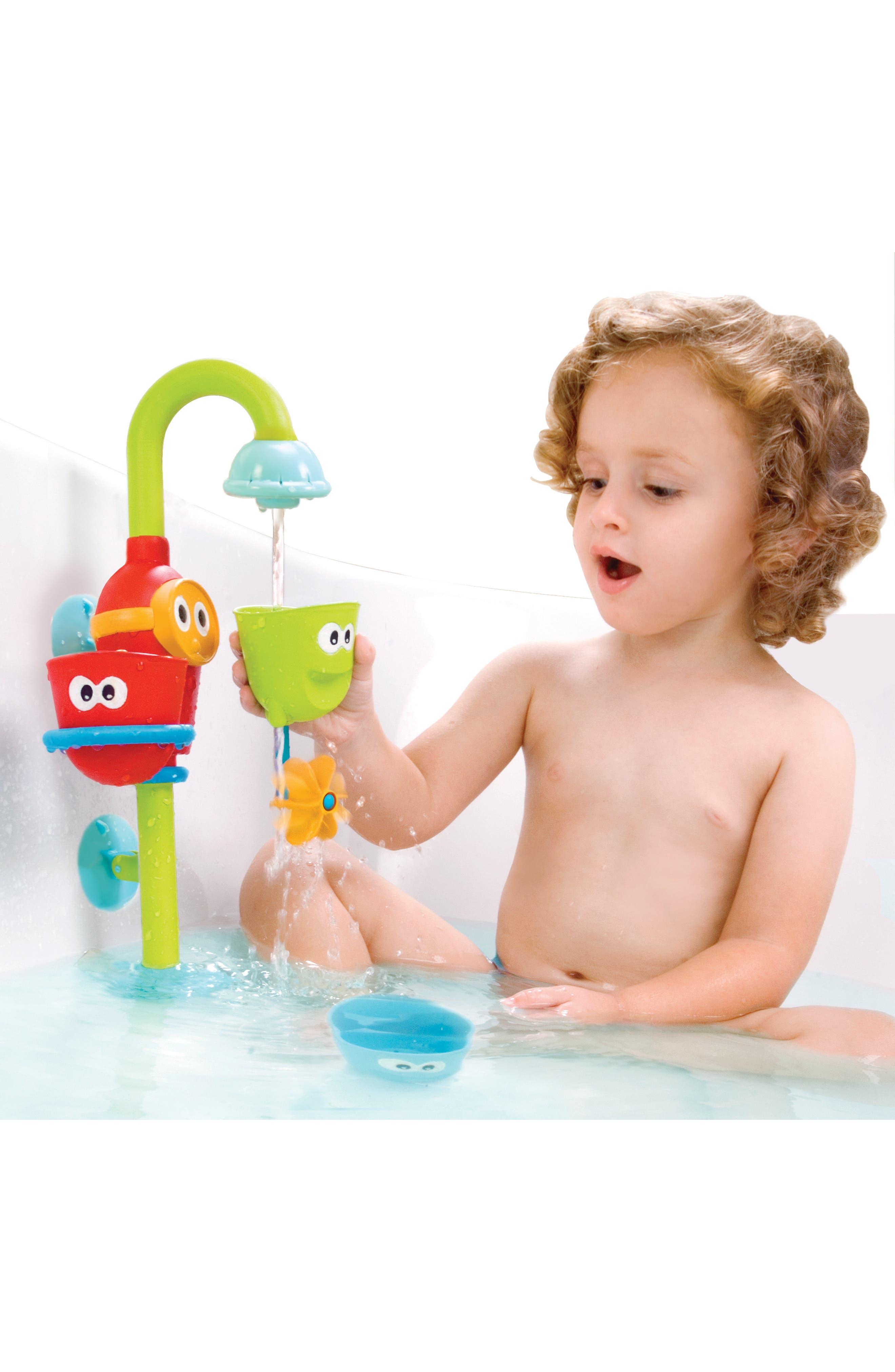 Flow 'N' Fill Spout Bath Toy,                             Alternate thumbnail 6, color,                             GREEN