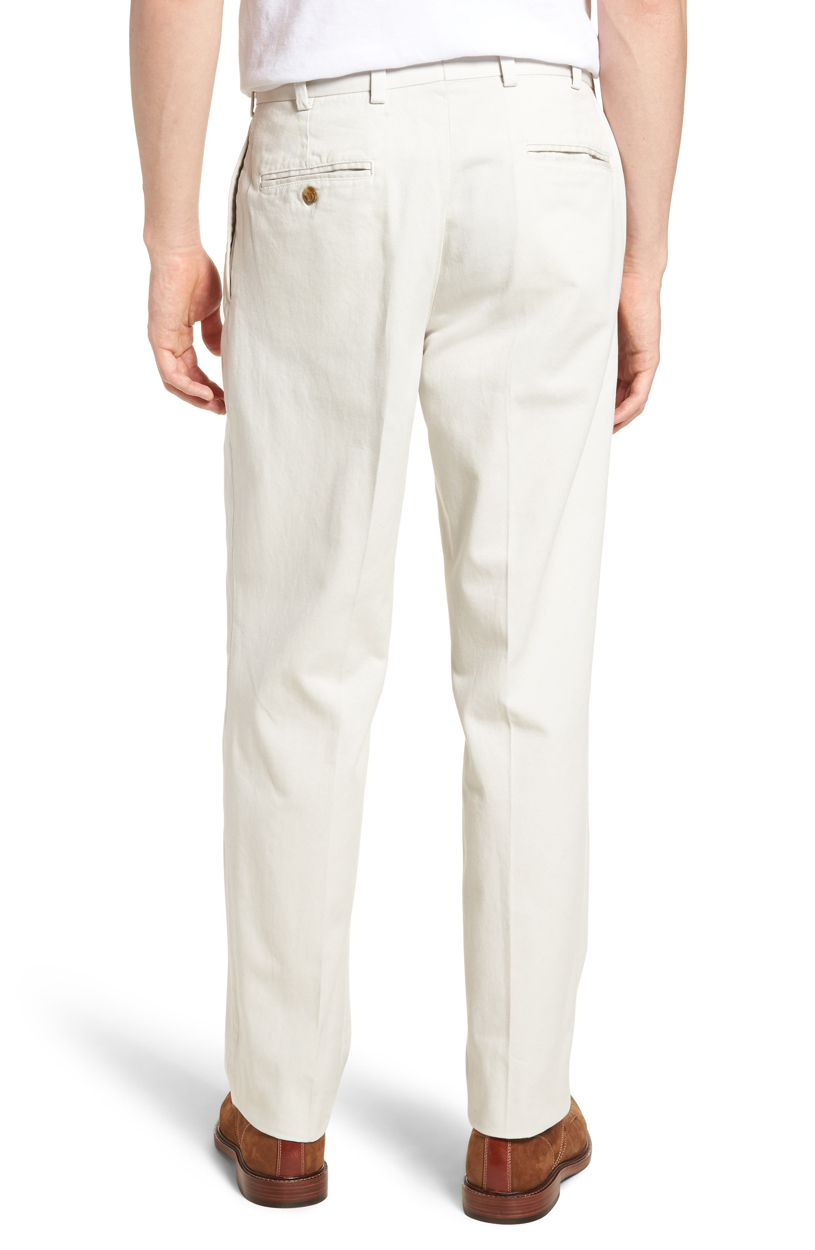 M2 Classic Fit Vintage Twill Pleated Pants,                             Alternate thumbnail 2, color,                             270