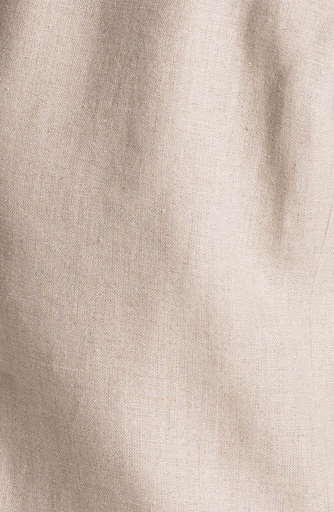 Linen Jacket,                             Alternate thumbnail 3, color,