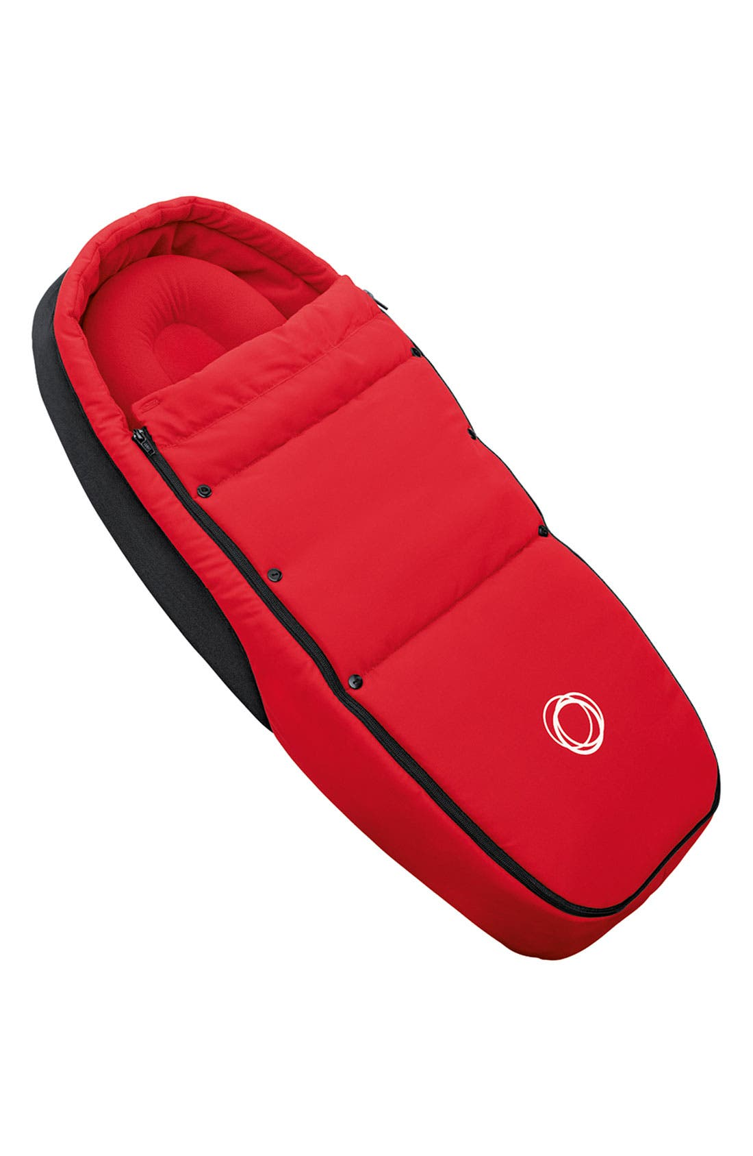 'Bee' Stroller Lining,                             Main thumbnail 1, color,                             RED