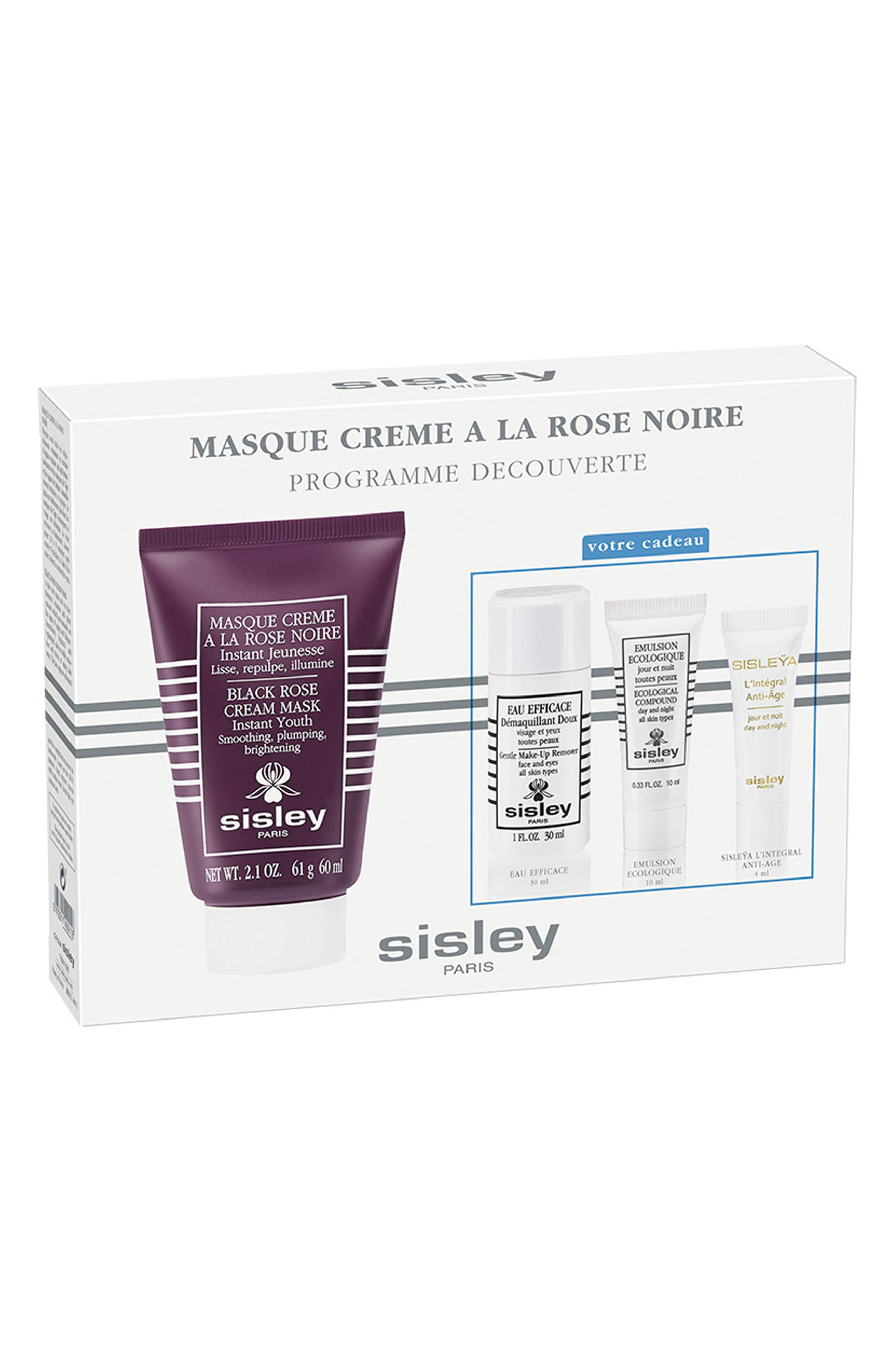 Black Rose Cream Mask Discovery Collection,                             Main thumbnail 1, color,