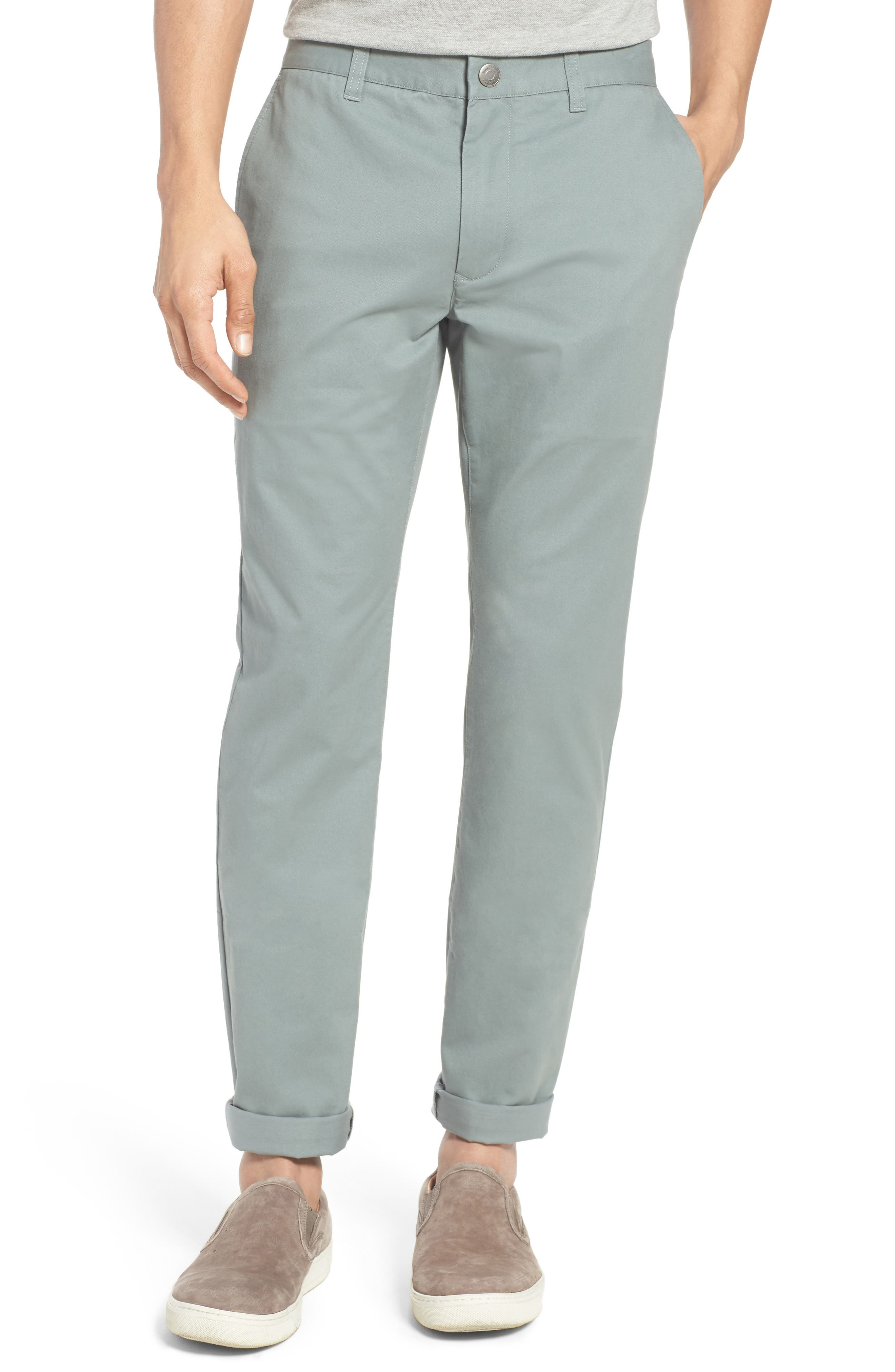 Tailored Fit Washed Stretch Cotton Chinos,                             Main thumbnail 30, color,