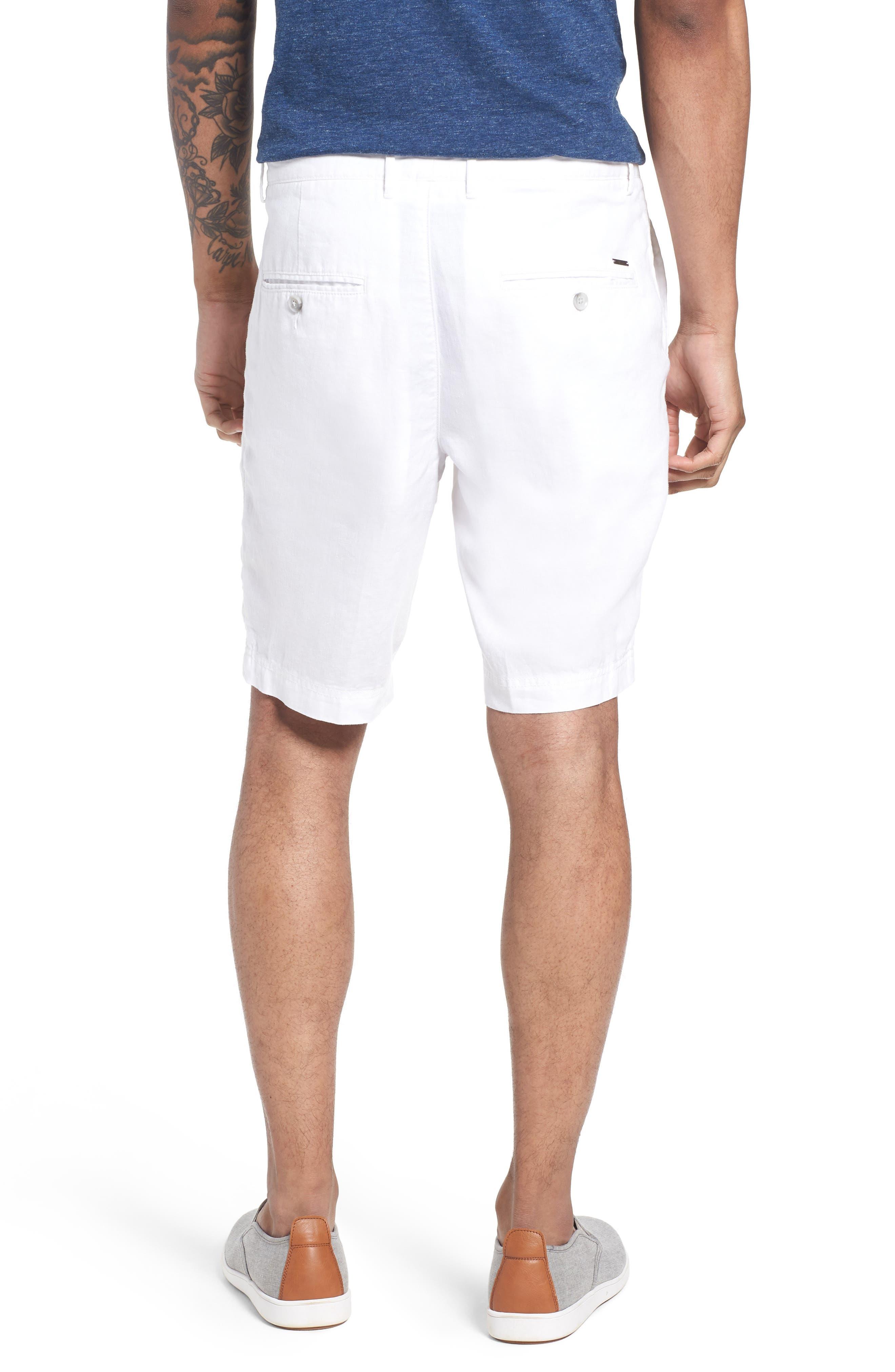 Crigan Linen Shorts,                             Alternate thumbnail 8, color,
