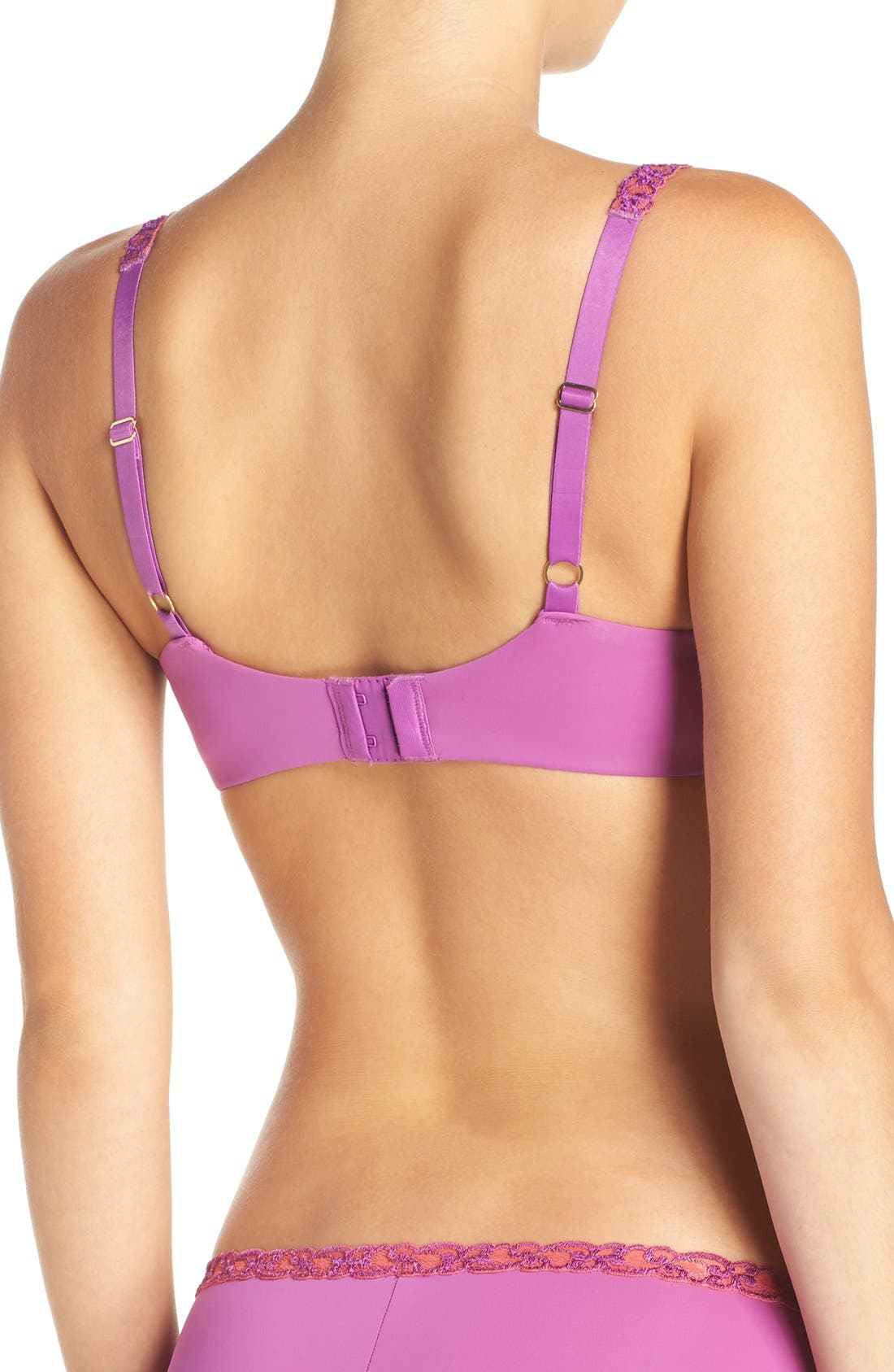 'Pure Luxe' Underwire T-Shirt Bra,                             Alternate thumbnail 90, color,