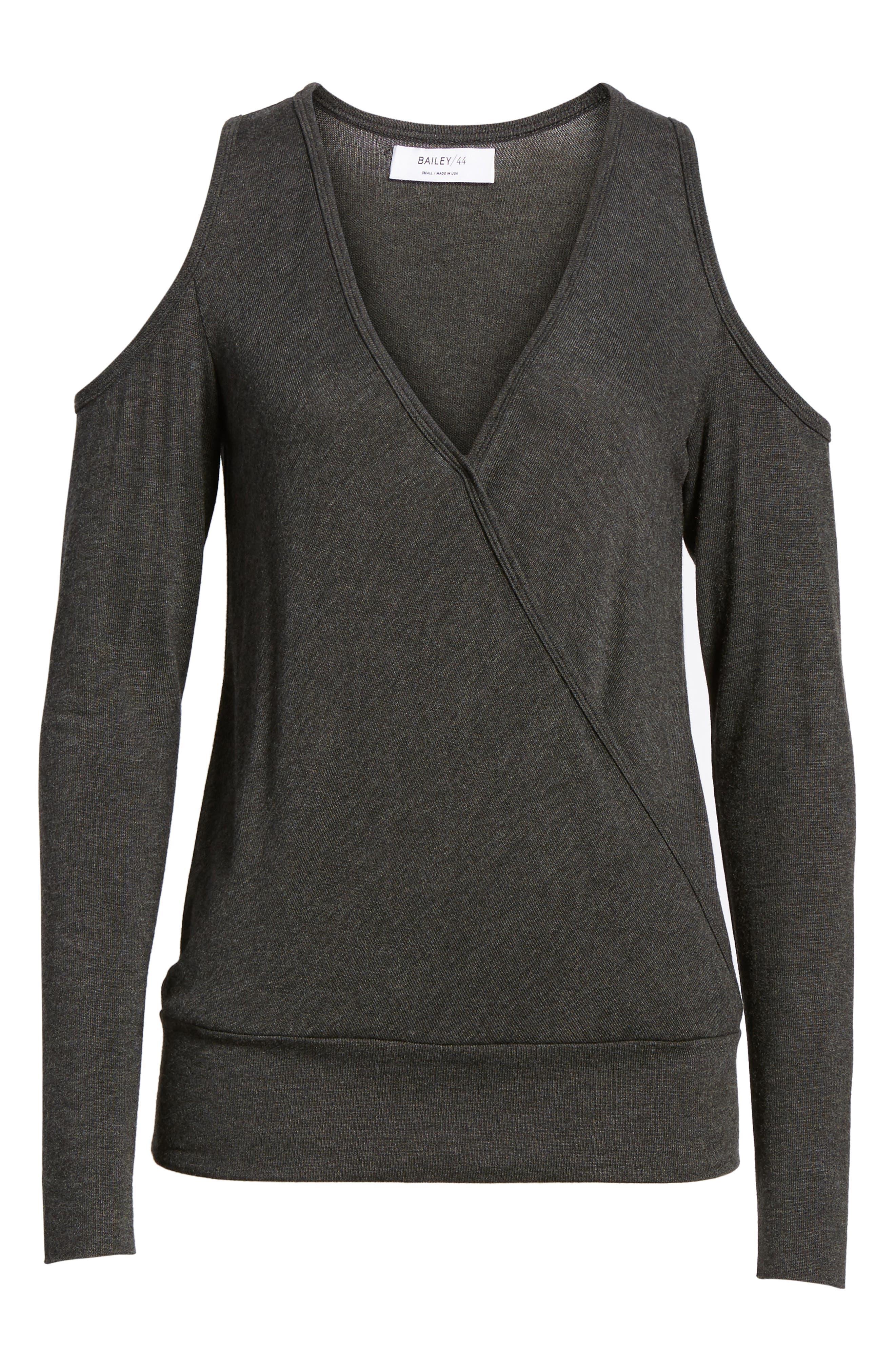 Big Hit Cold Shoulder Sweater,                             Alternate thumbnail 6, color,