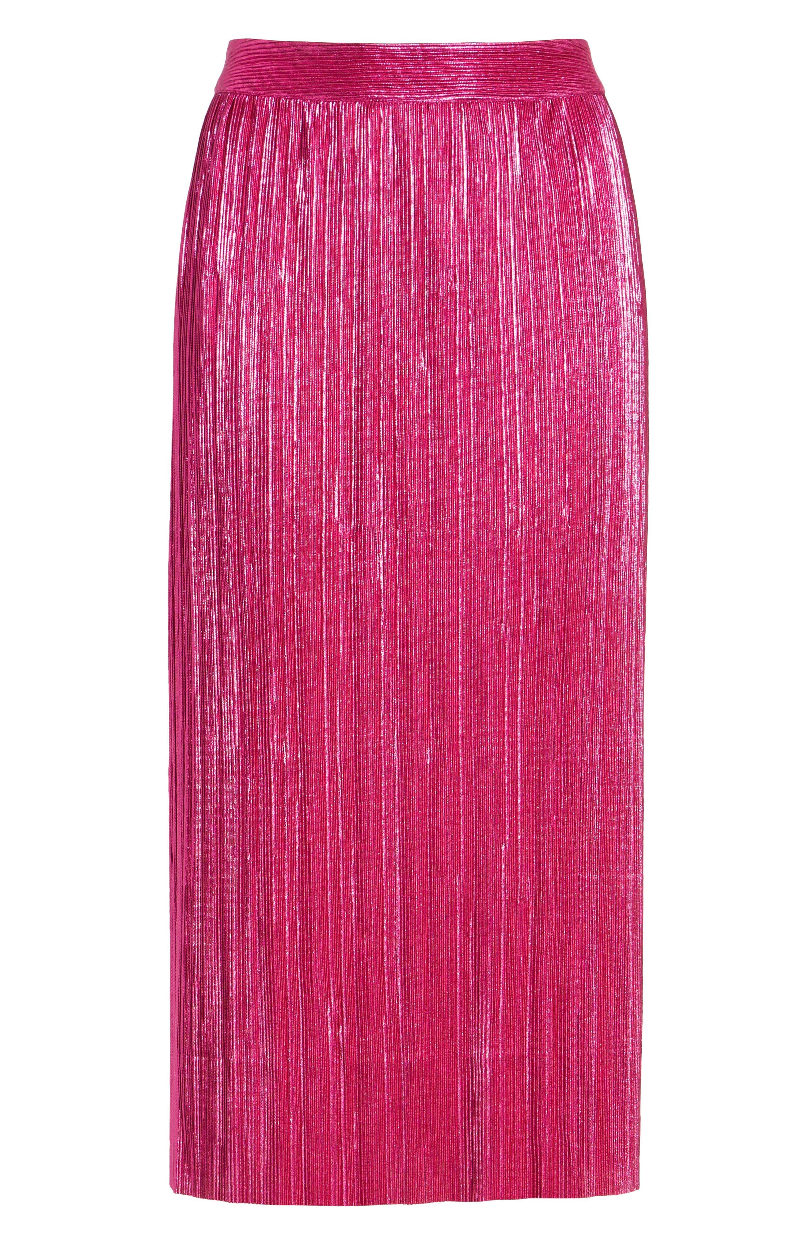 Marion Midi Skirt,                             Alternate thumbnail 6, color,                             650