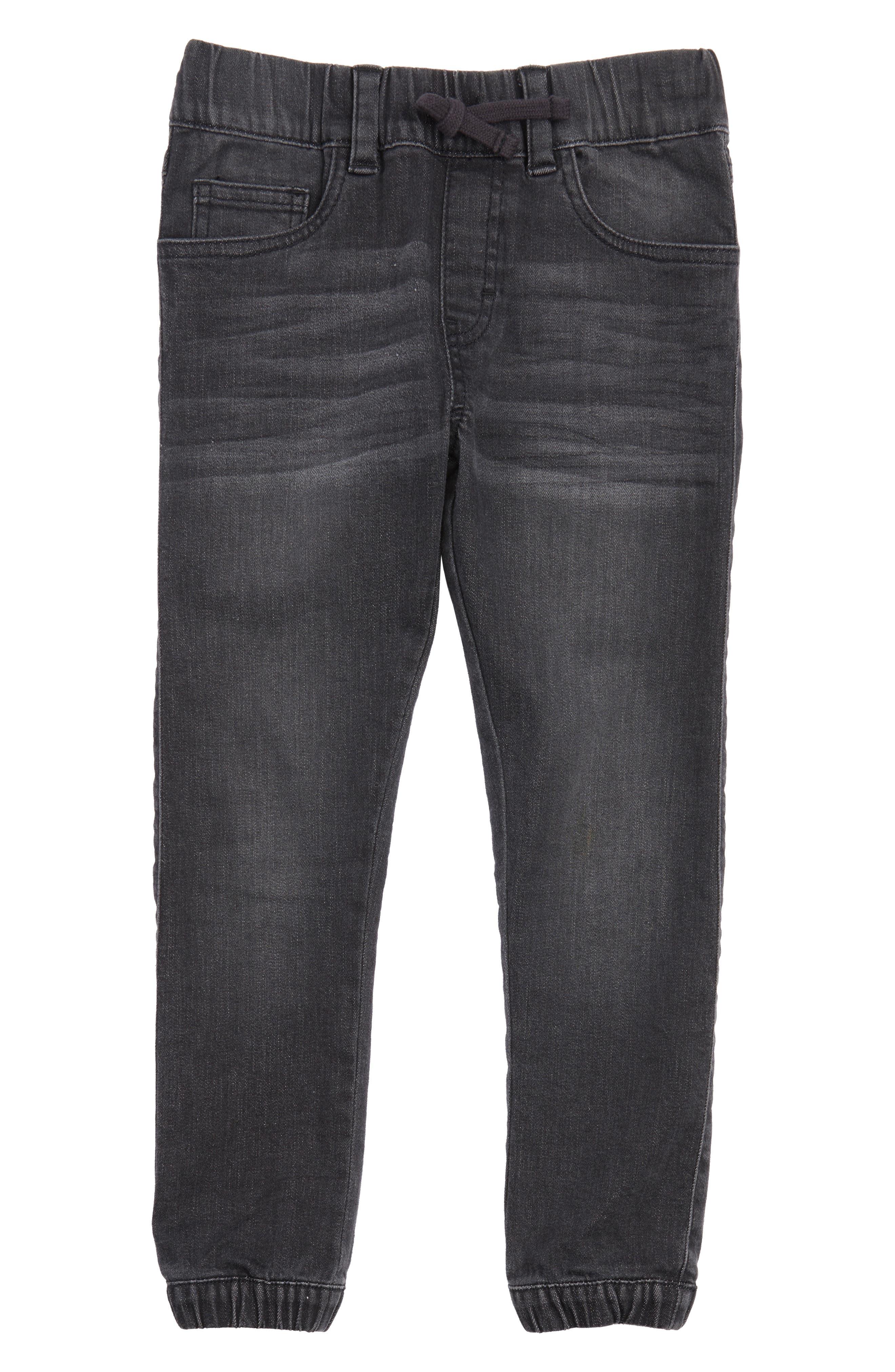 Denim Jogger Pants,                         Main,                         color, 001