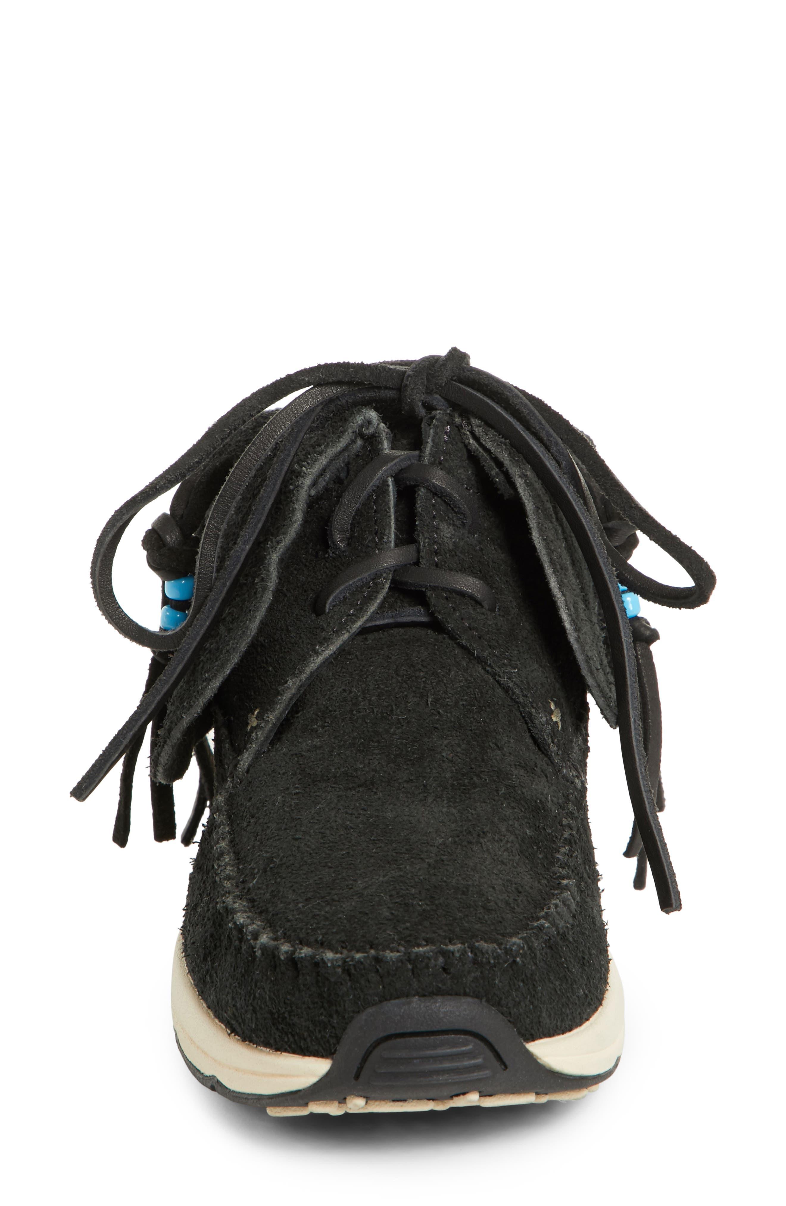 FBT Suede Moccasin Sneaker,                             Alternate thumbnail 4, color,                             003