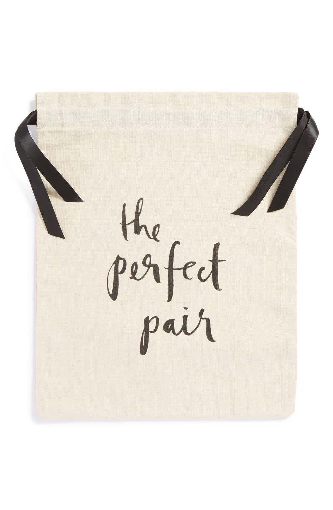 'the perfect pair' shoe bag,                             Main thumbnail 1, color,                             100