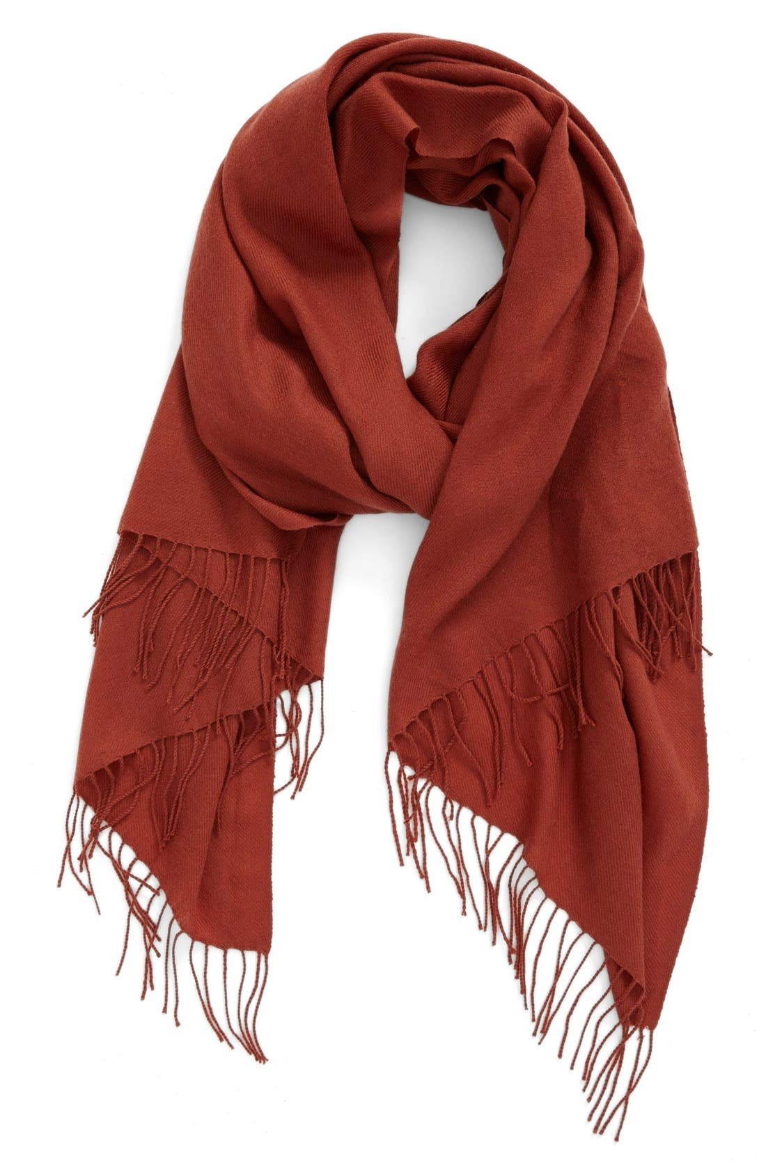 Tissue Weight Wool & Cashmere Scarf,                             Main thumbnail 20, color,