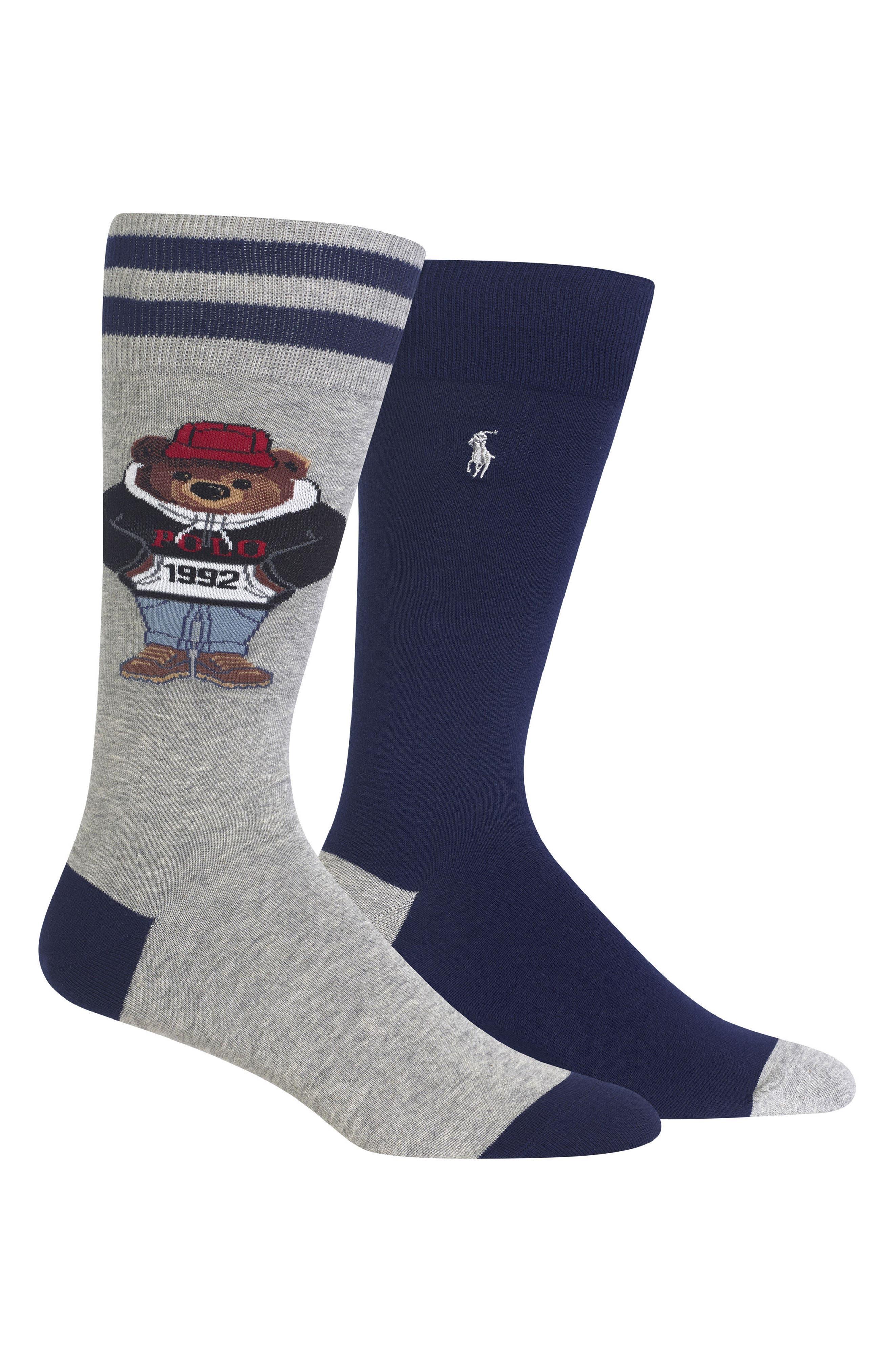 2-Pack Socks,                             Main thumbnail 1, color,                             054