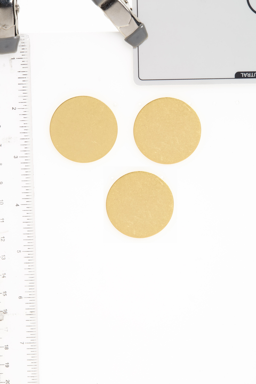 Circle Stud Earrings,                             Alternate thumbnail 2, color,                             710