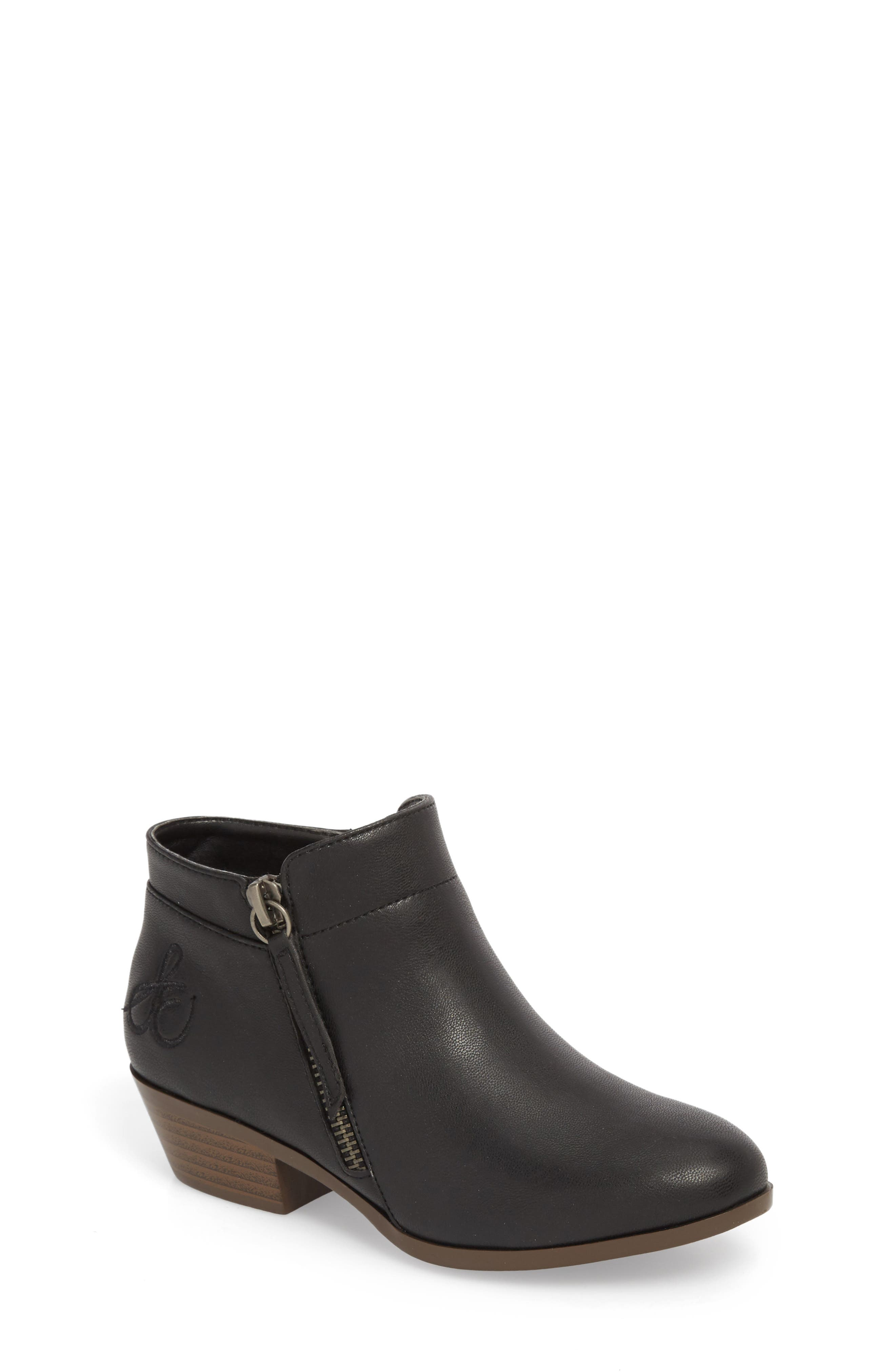 Petty Packer Bootie,                         Main,                         color, BLACK