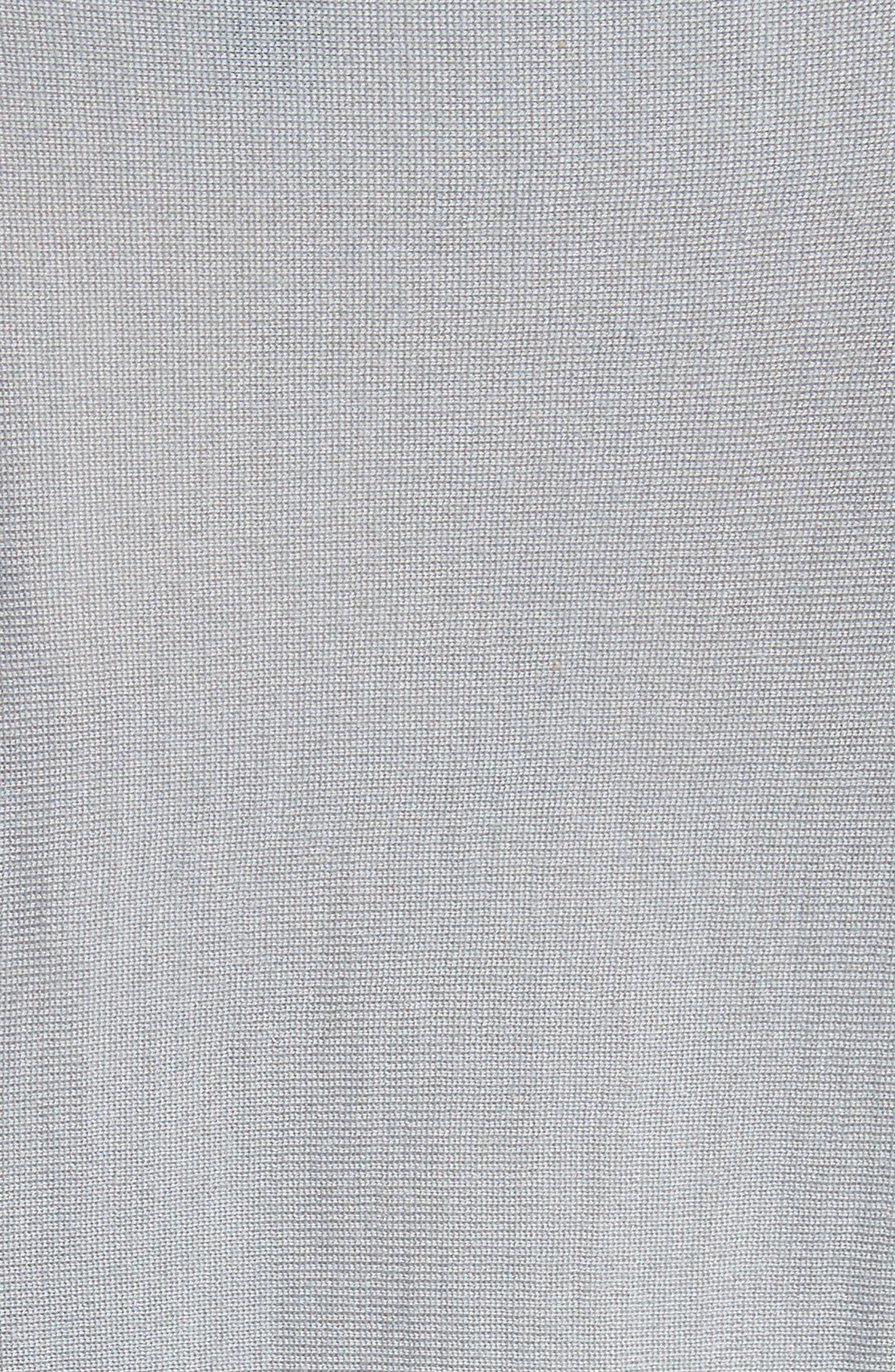 Cashmere & Silk Drape Sweater,                             Alternate thumbnail 5, color,                             400