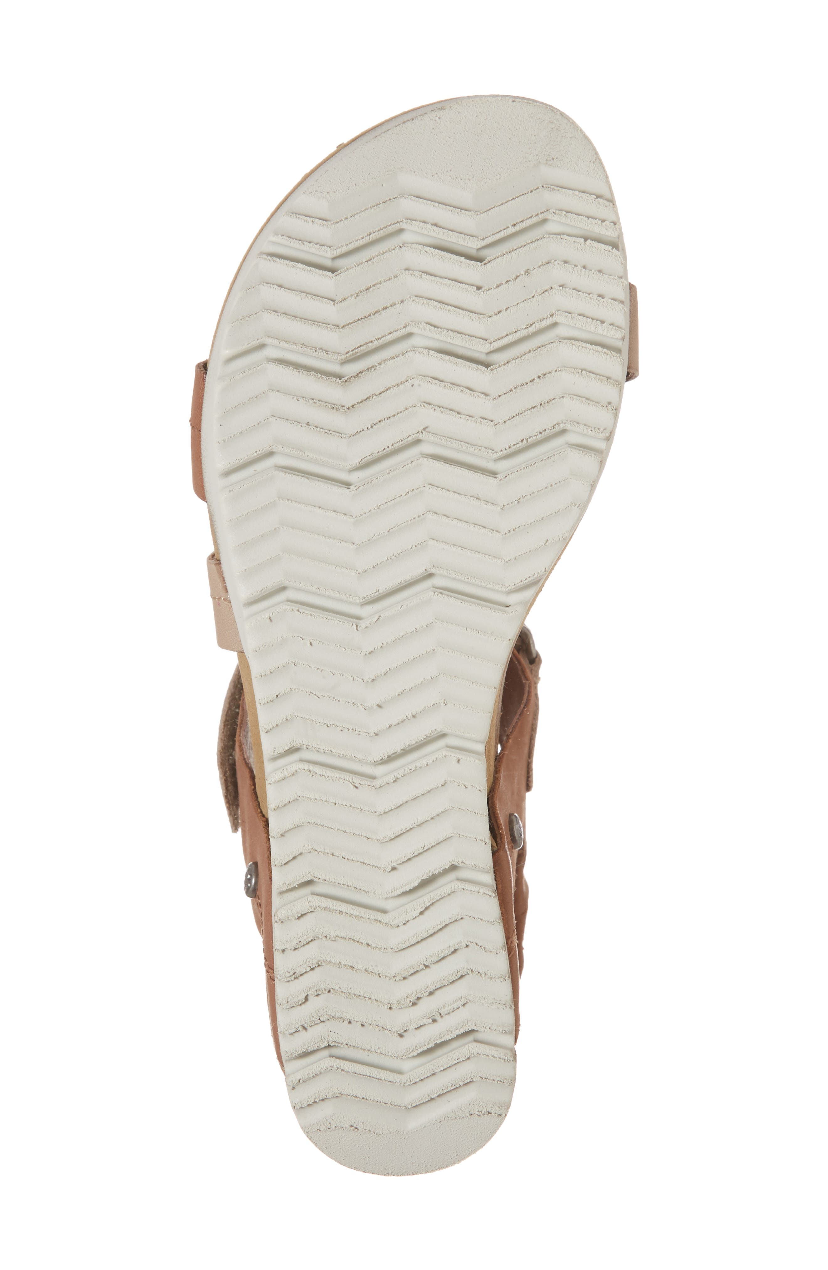 Wavey Wedge Sandal,                             Alternate thumbnail 6, color,                             214